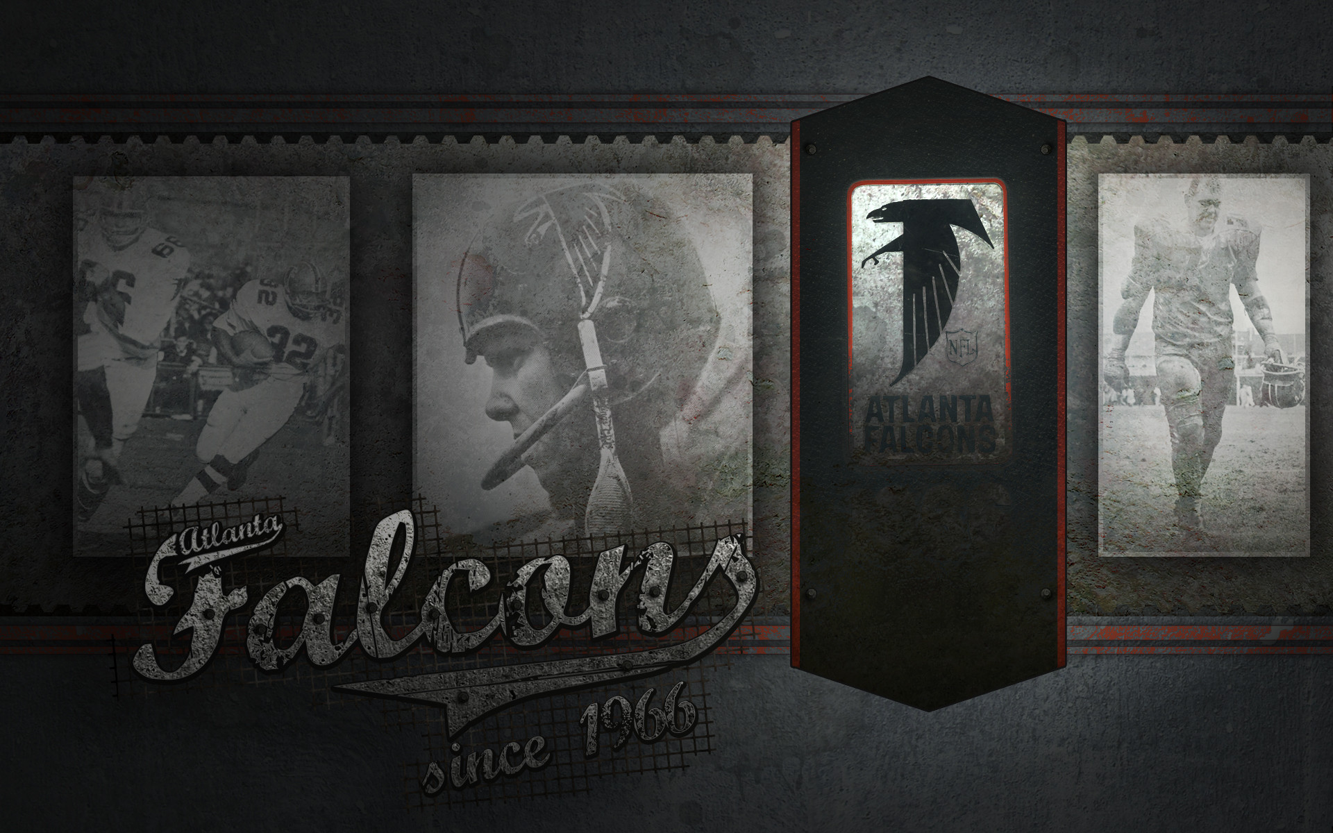 Res: 1920x1200, Old school wallpaper, hope you like it.  Old_school_Falcons_wallpaper_by_Culyu.jpg
