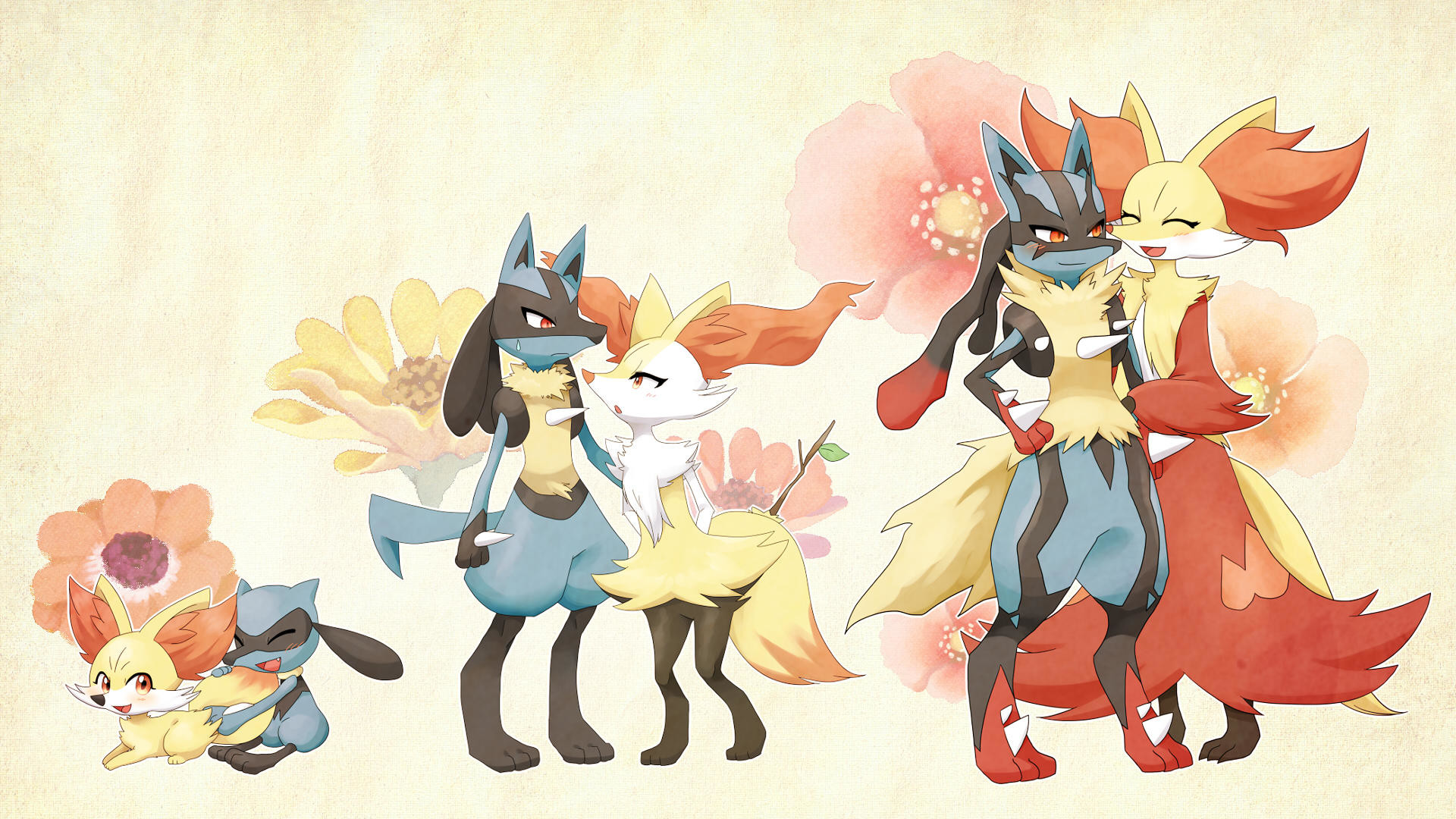Res: 1920x1080, Pokemon Lucario HD Backgrounds.