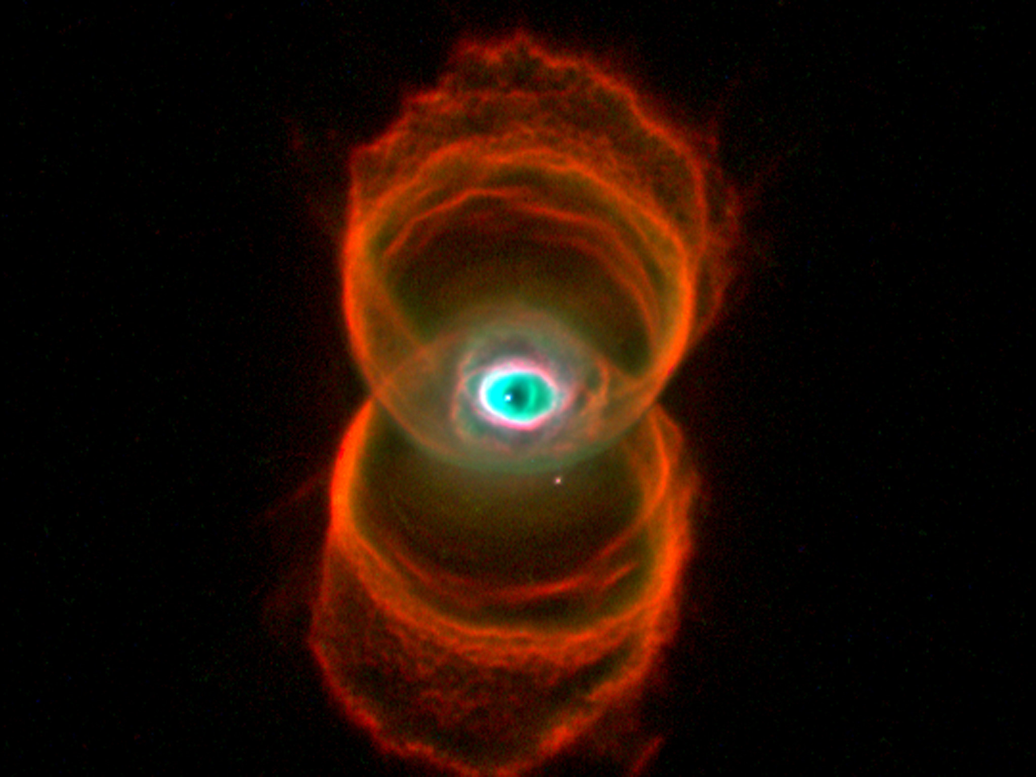 Res: 2048x1536, The Hourglass Nebula