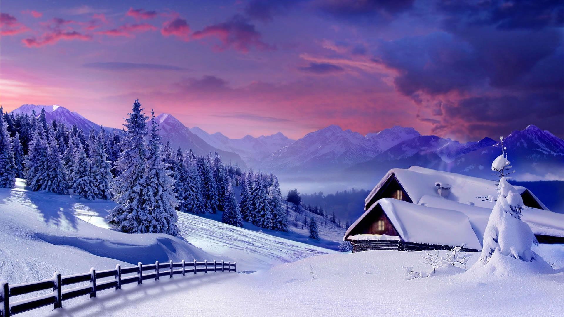 Winter Nature Wallpapers Hd Wallpaper Collections