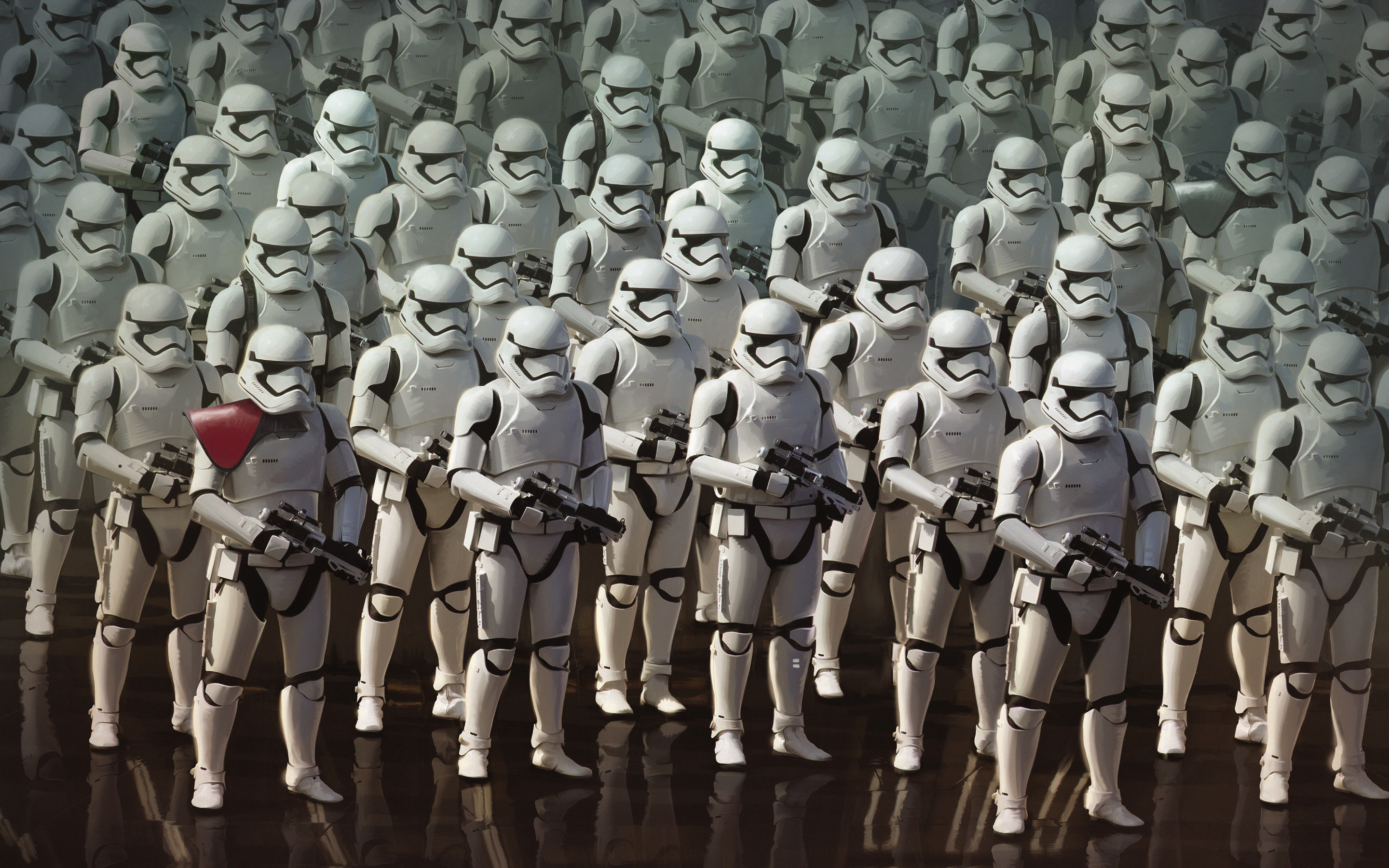 Res: 2880x1800, Star Wars The Force Awakens Stormtroopers Wallpaper