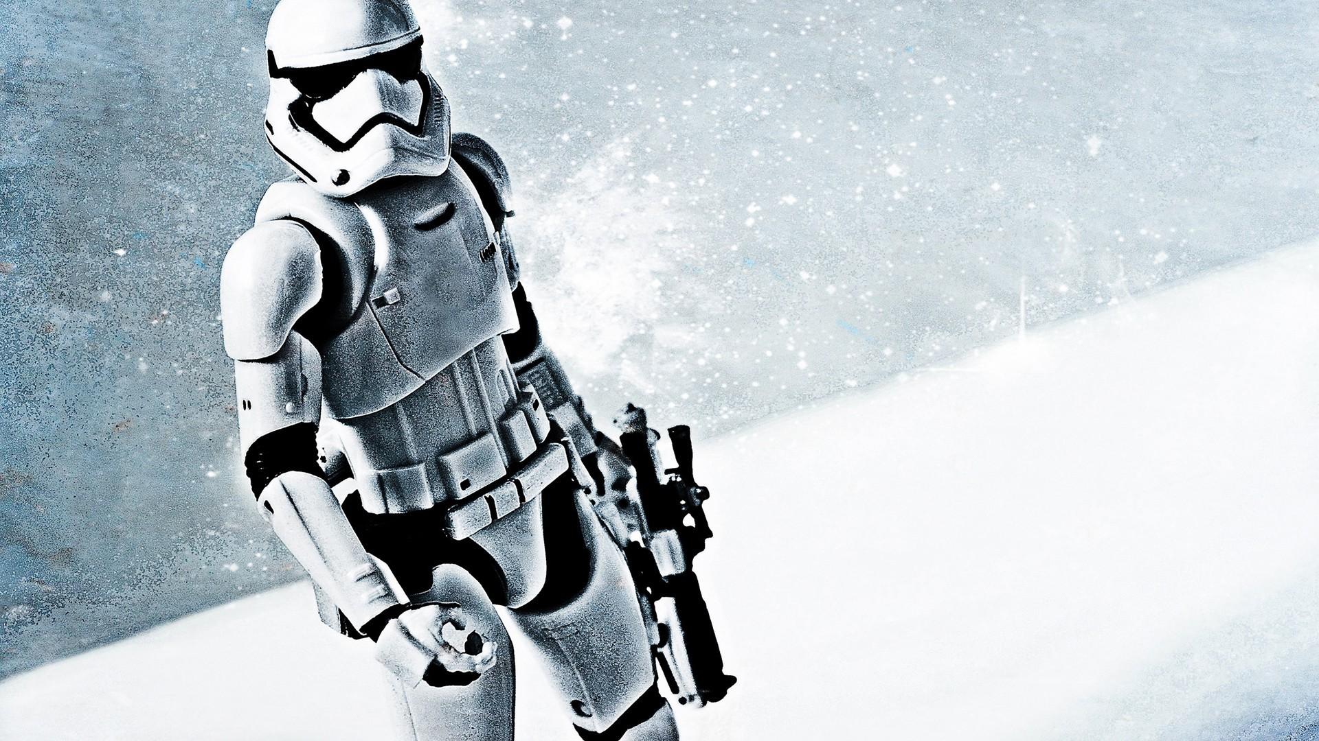Res: 1920x1080, Star Wars, Star Wars: Episode VII The Force Awakens, Stormtrooper, Gun Wallpapers  HD / Desktop and Mobile Backgrounds
