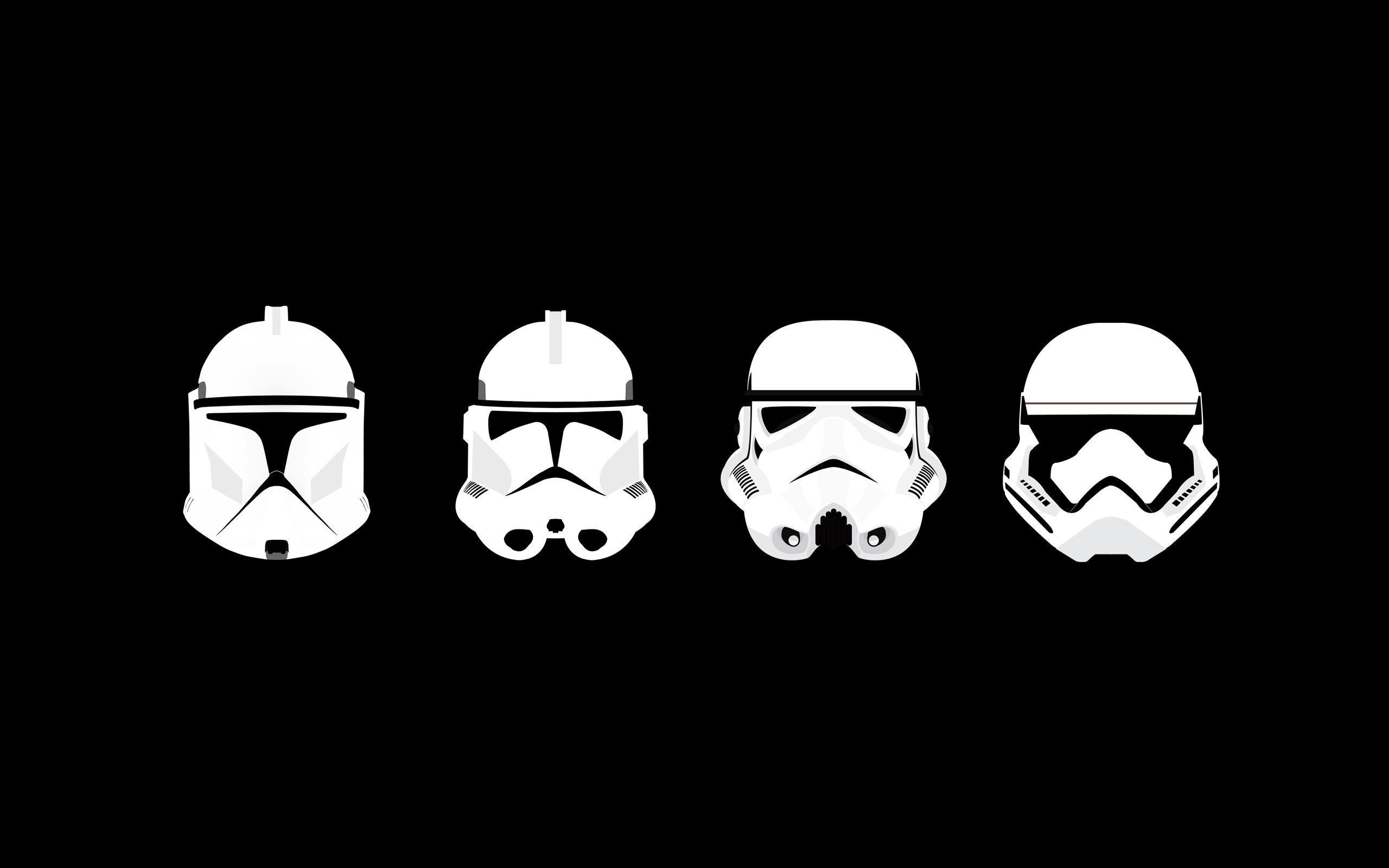 Res: 2560x1600, Star Wars Stormtrooper Wallpaper Hd Pics Clone Trooper Minimalism Of Laptop