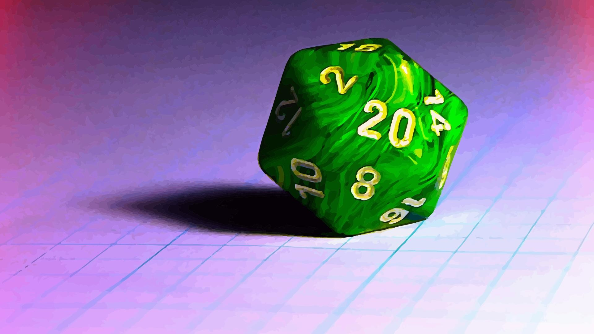 Res: 1920x1080, I made thisMy faithful d20 [] ...