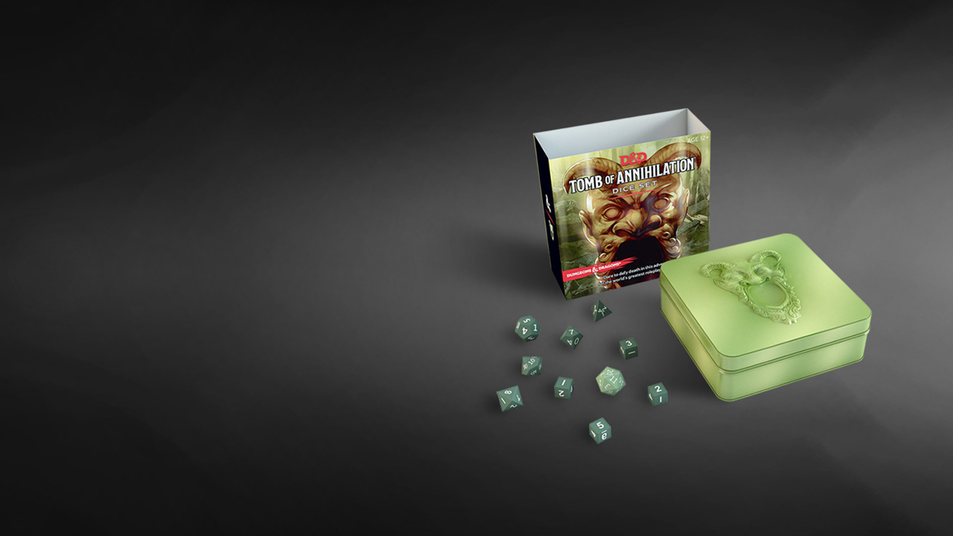 Res: 1920x1080, D&D's Tomb of Annihiltion dice set retails for $19.95. Buy a set here.