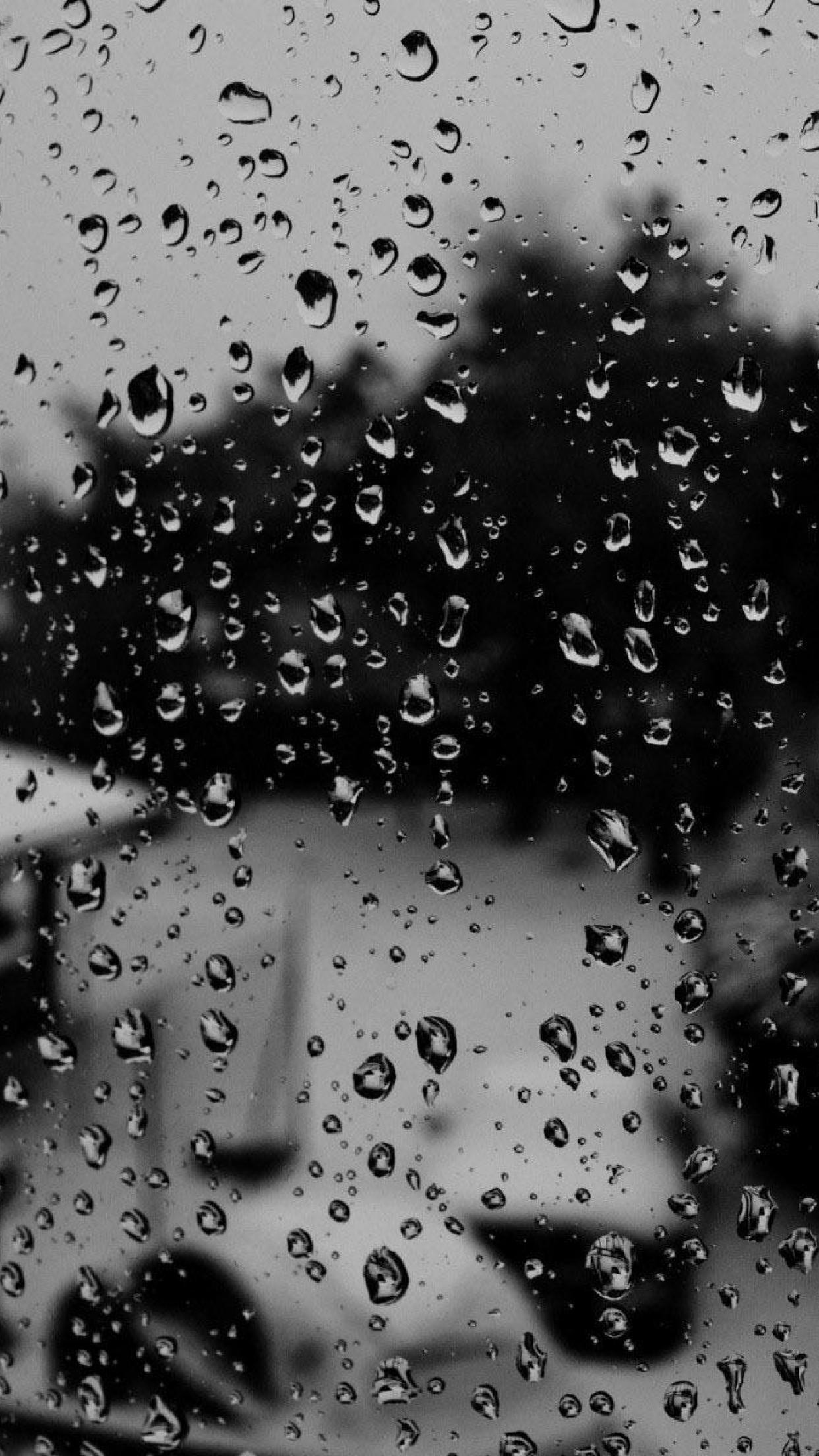 Res: 1242x2208, Iphone Raindrop Wallpapers Group 68 pertaining to rain wallpaper iphone  1600×1200