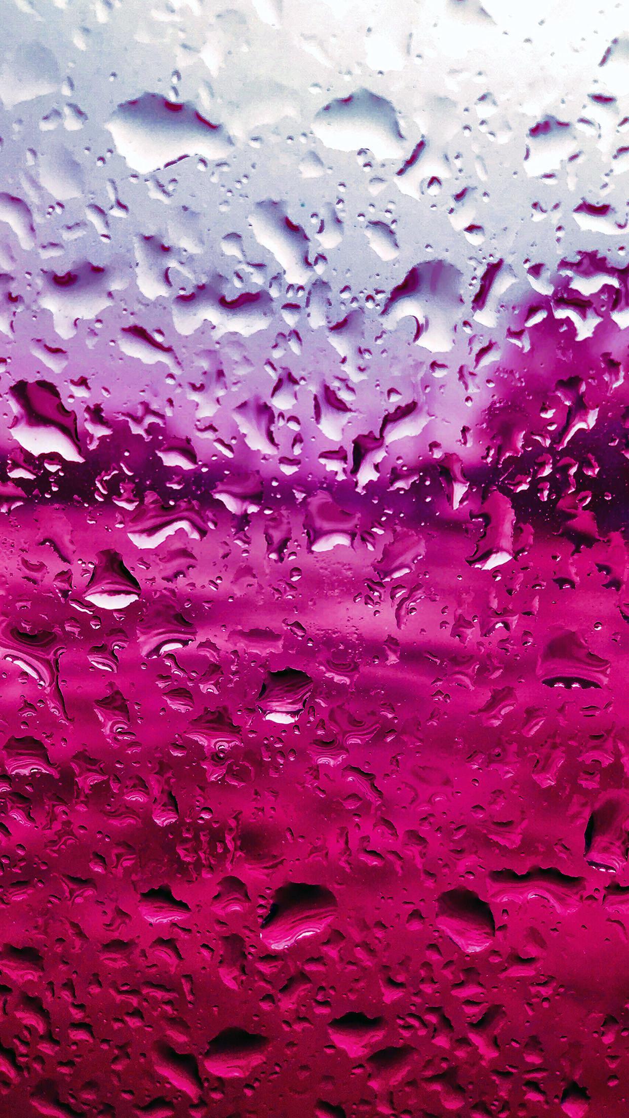 Res: 1242x2208, vr70-rain-drop-window-red-pattern