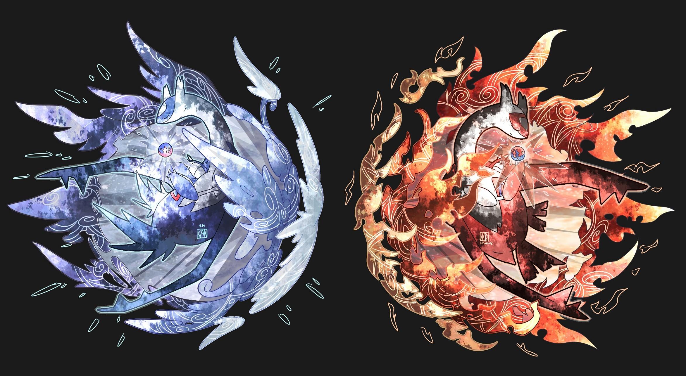 Res: 2346x1287, Video Game - Pokémon Latios (Pokémon) Latias (Pokémon) Legendary Pokémon  Wallpaper