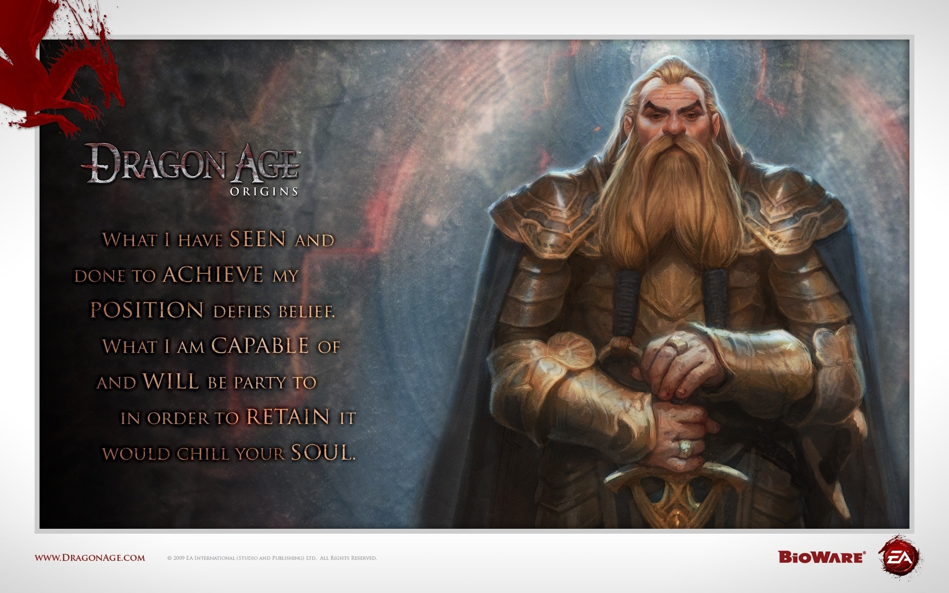 Res: 1920x1200, ... Next: Dragon Age Origins Dwarf Noble. Category: Games wallpapers