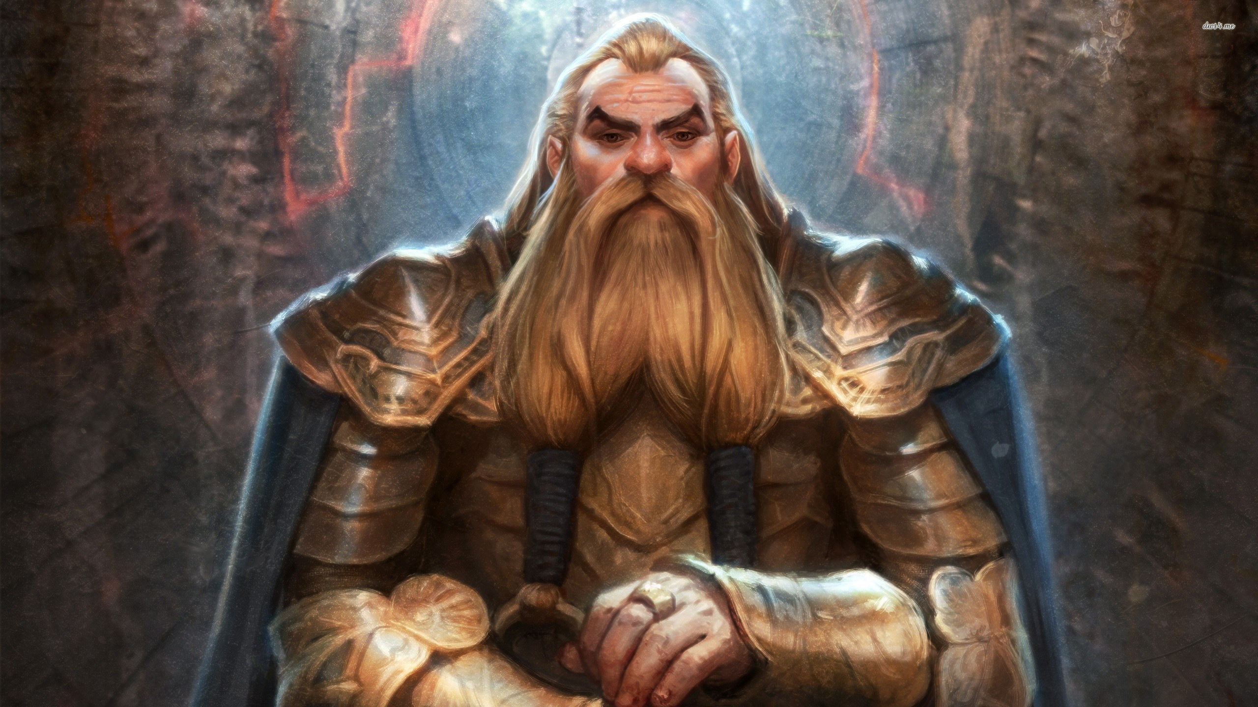 Res: 2560x1440, ... Dwarf Noble Origin - Dragon Age wallpaper  ...