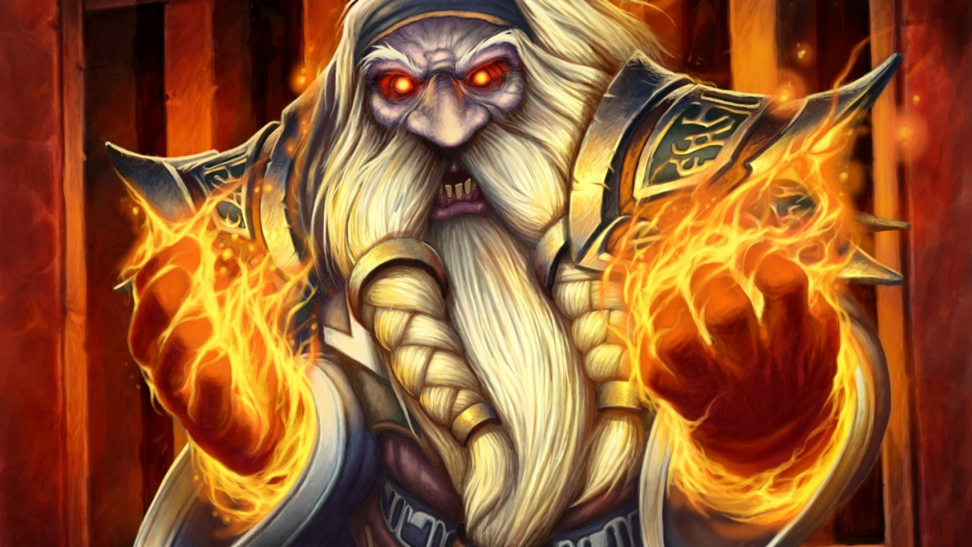 Res: 1920x1080,  Preview wallpaper world of warcraft, blackrock mountain, high  justice grimstone, dwarf