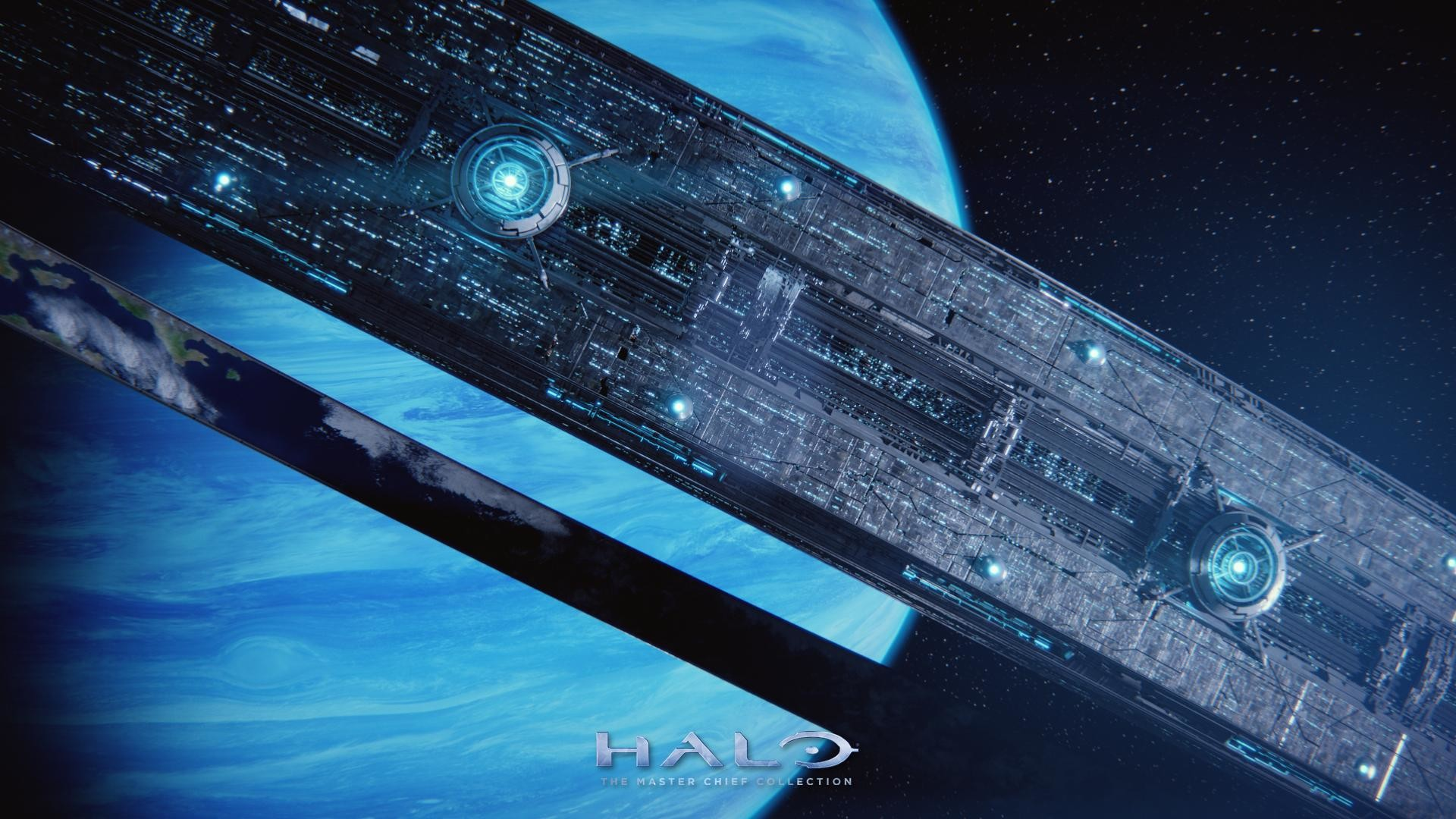 Res: 1920x1080, Halo Ring Wallpaper Background HD