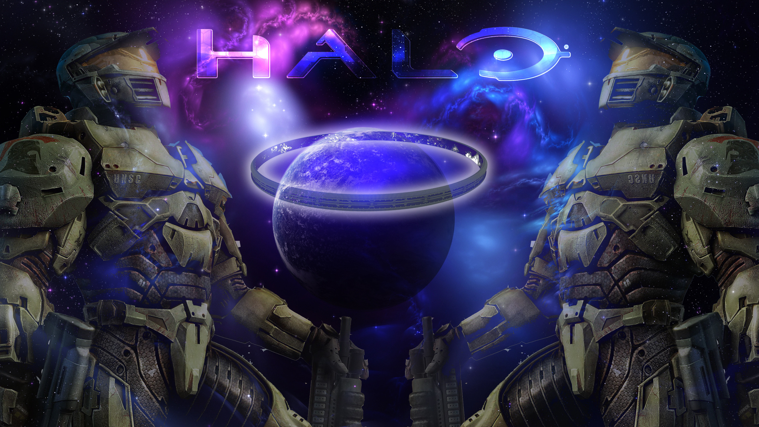 Res: 3000x1688, Halo Ring Wallpaper by Tahu1179 Halo Ring Wallpaper by Tahu1179