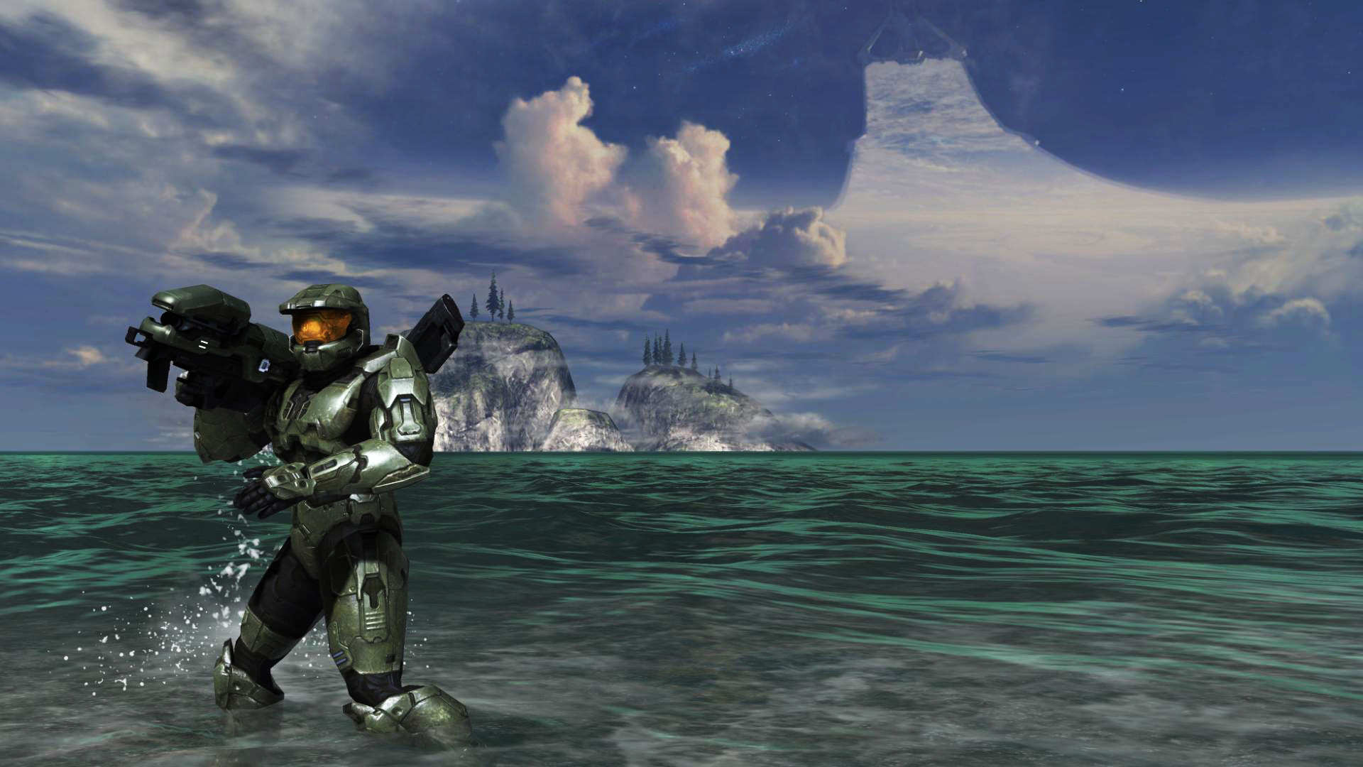Res: 1920x1080, ... Master Chief - Halo 3 by Hischar