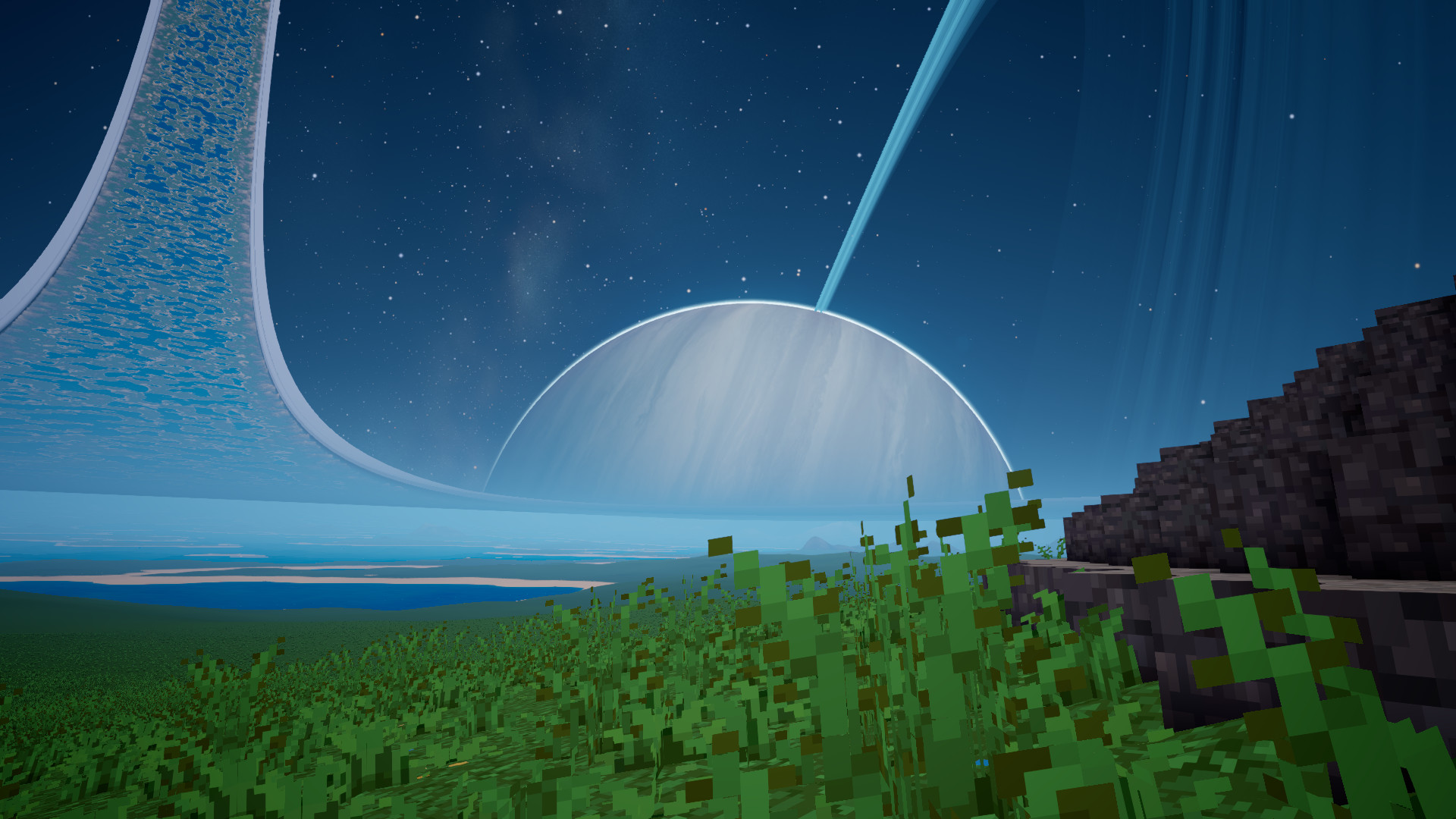 Res: 1920x1080, ... Just added 1000km Halo like space habitat to my game Album on Imgur