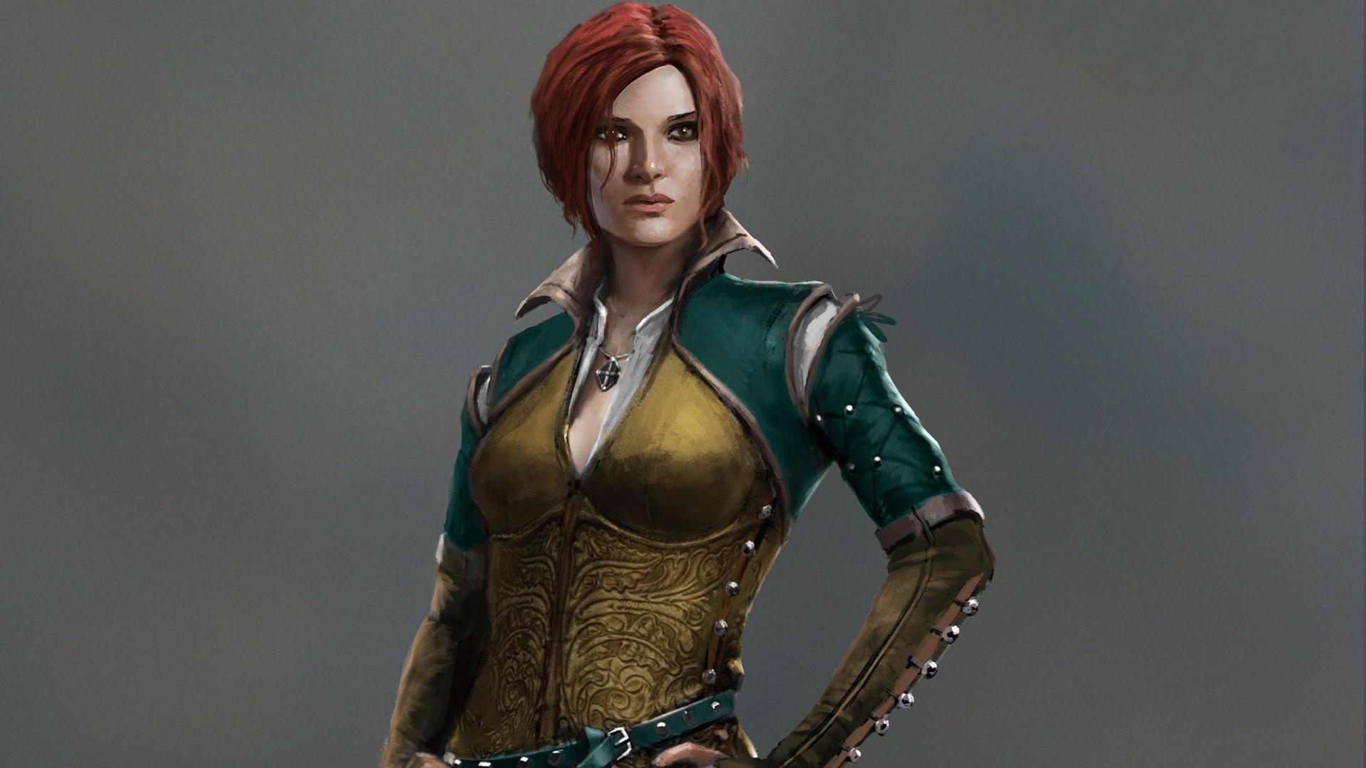 Res: 1920x1080, The Witcher, Triss Merigold Wallpapers HD / Desktop and Mobile Backgrounds