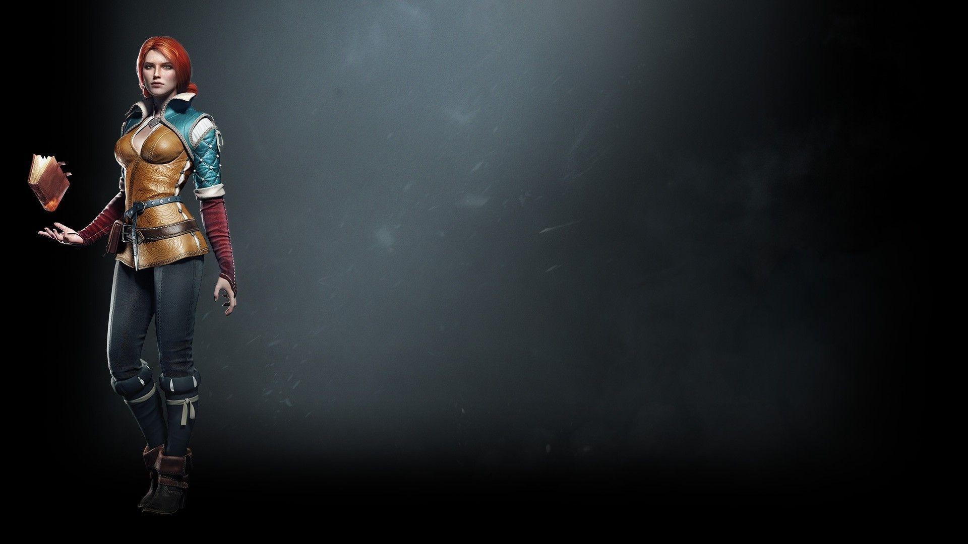 Res: 1920x1080, The Witcher Triss Wallpaper