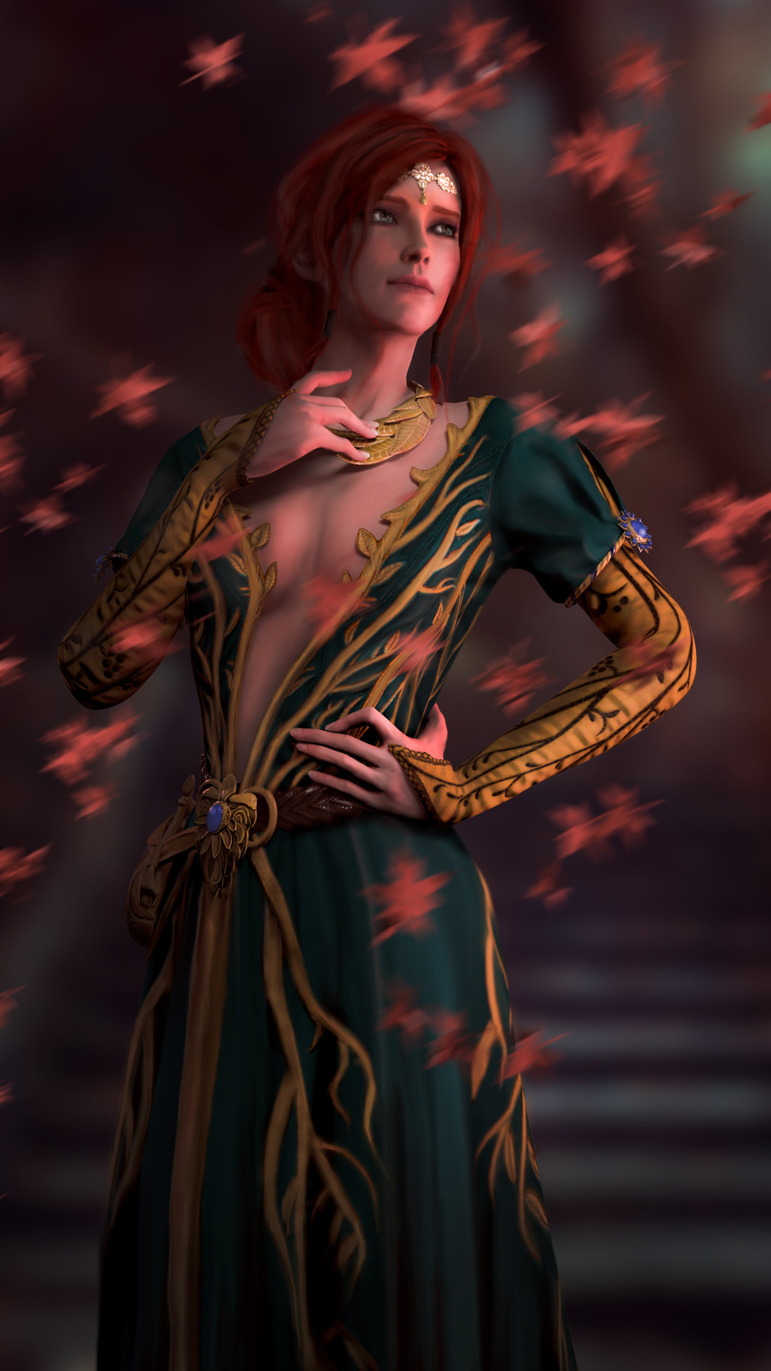 Res: 1080x1920, Triss Merigold by AnitraCroft Triss Merigold by AnitraCroft