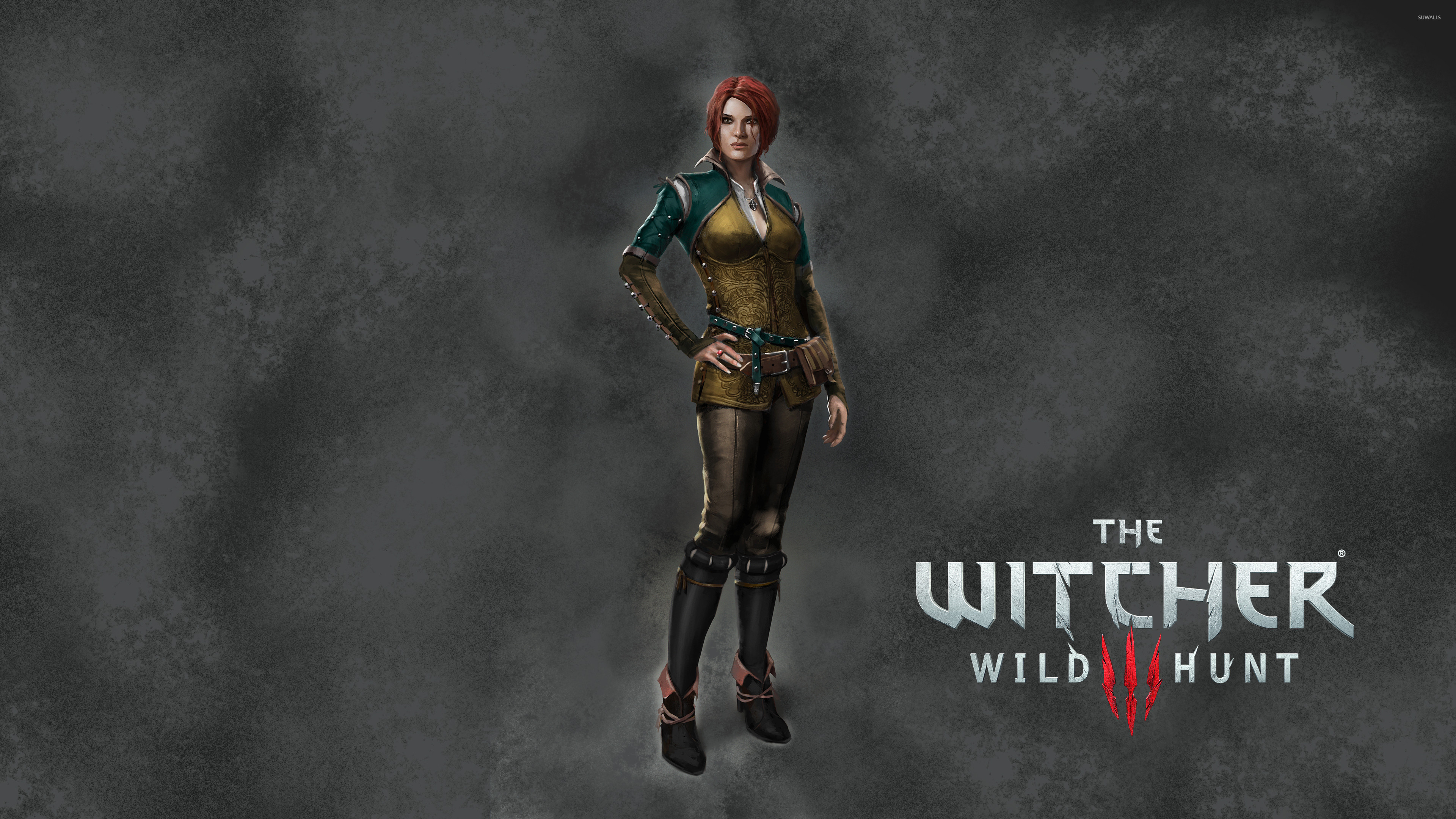 Res: 3840x2160, Triss Merigold in The Witcher 3: Wild Hunt wallpaper