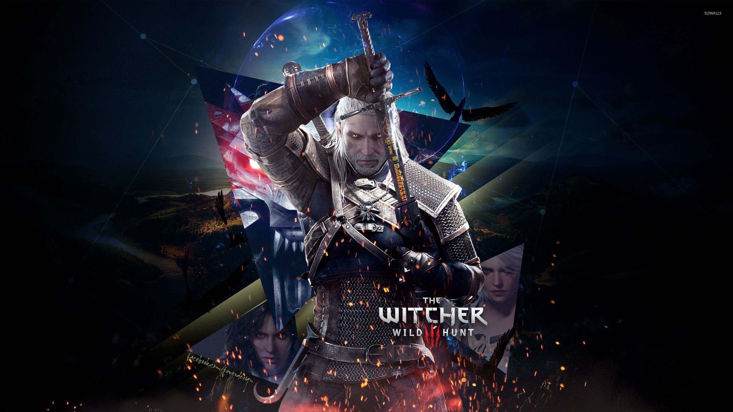 Res: 2560x1440, Triss Merigold Video game characters The Witcher The Witcher