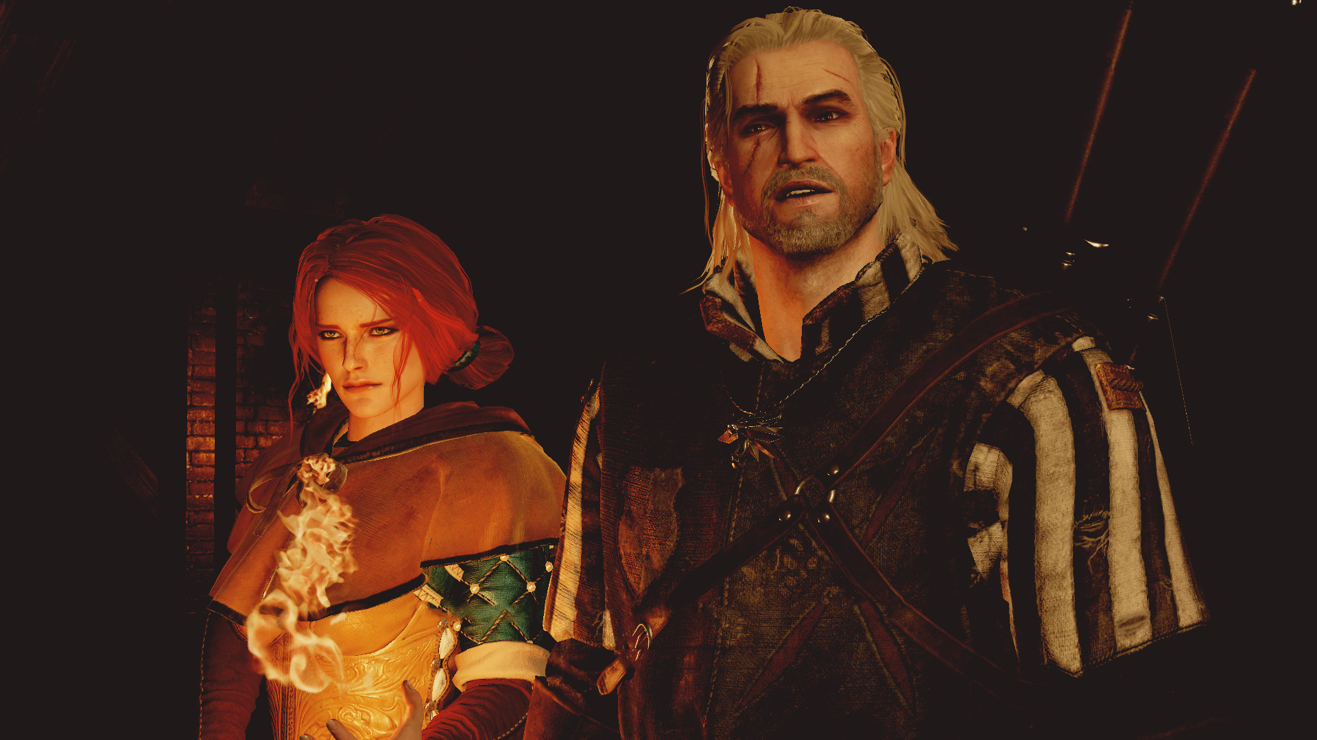 Res: 1920x1080, Triss Merigold Fantasy Abstract Background Wallpapers on