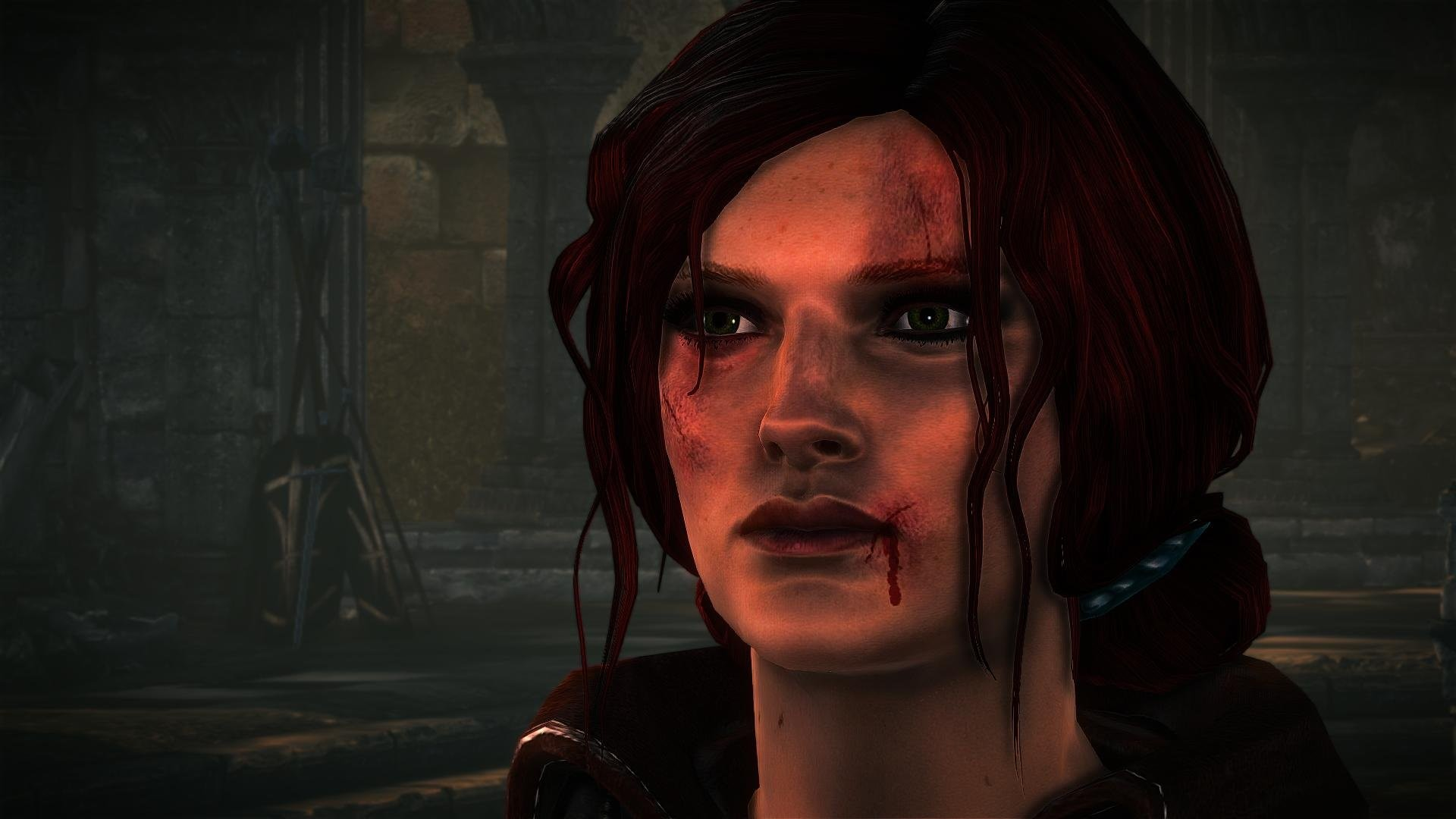 Res: 1920x1080, The Witcher 2 Assassins of Kings Triss Merigold redhead wallpaper       676511   WallpaperUP