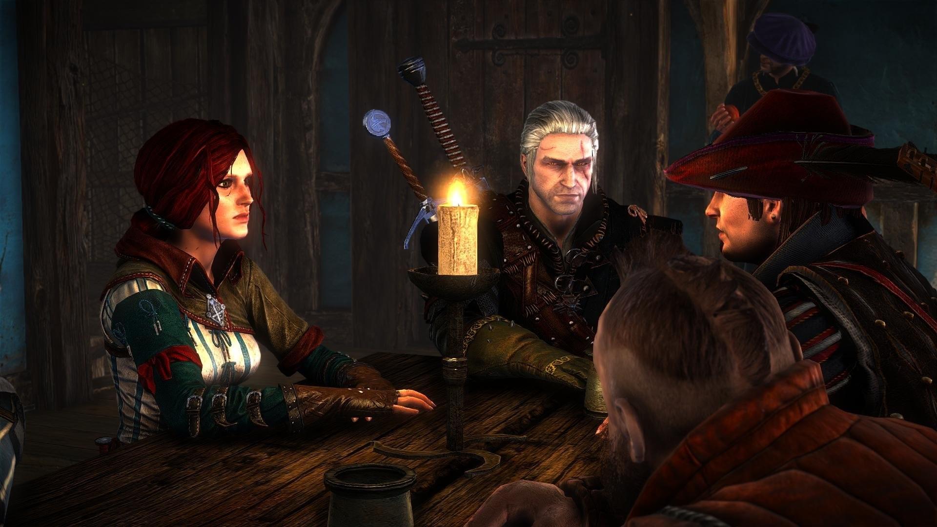 Res: 1920x1080, The Witcher 2 Assassins of Kings Dandelion Zoltan Chivay Geralt Triss  Merigold wallpaper      696593   WallpaperUP