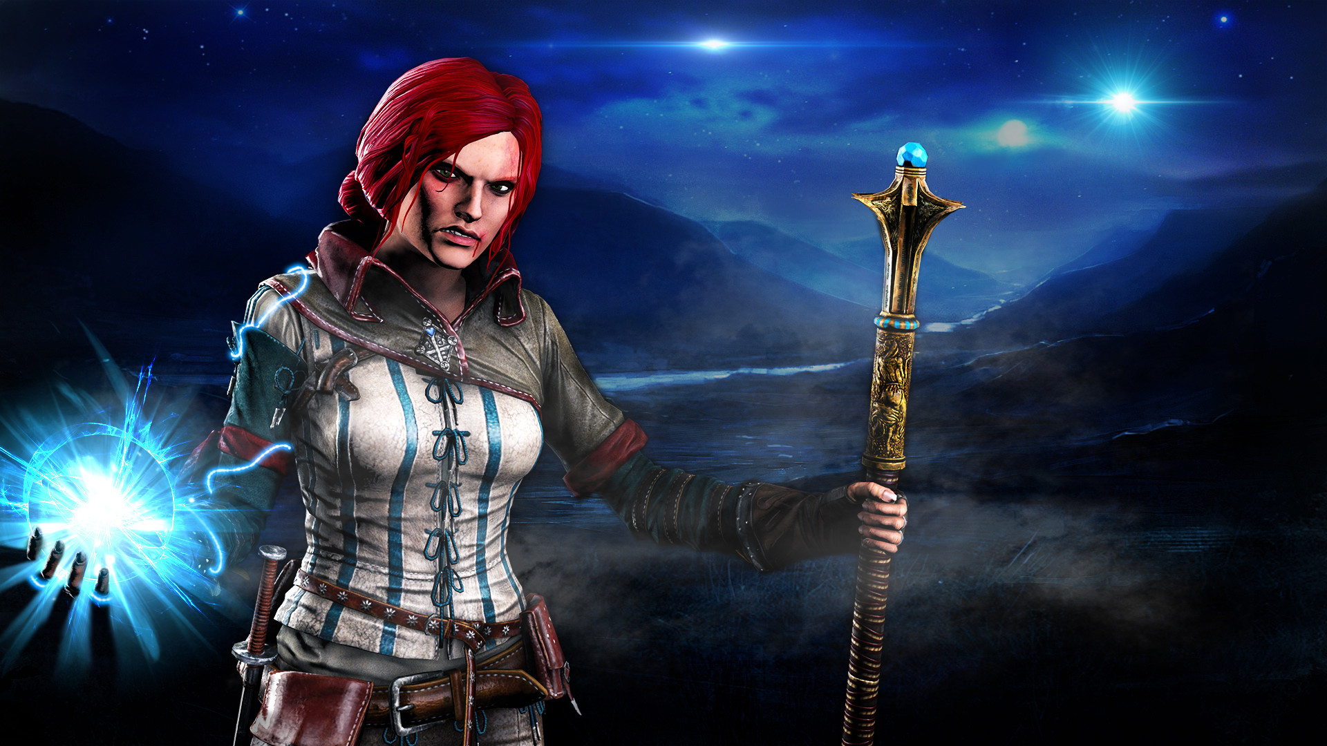 Res: 1920x1080, Triss Merigold by GeneralYobo Triss Merigold by GeneralYobo