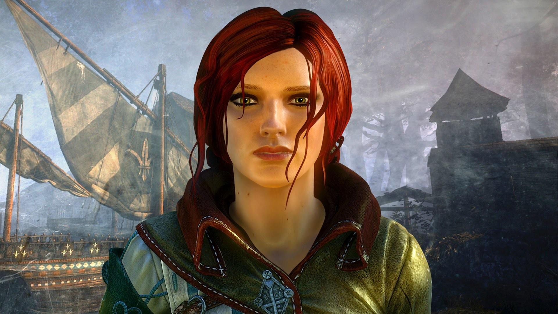 Res: 1920x1080, Triss Merigold Adventures: Perils of a Pretty Redhead Sorceress (Witcher 2  Movie   Geralt) - YouTube