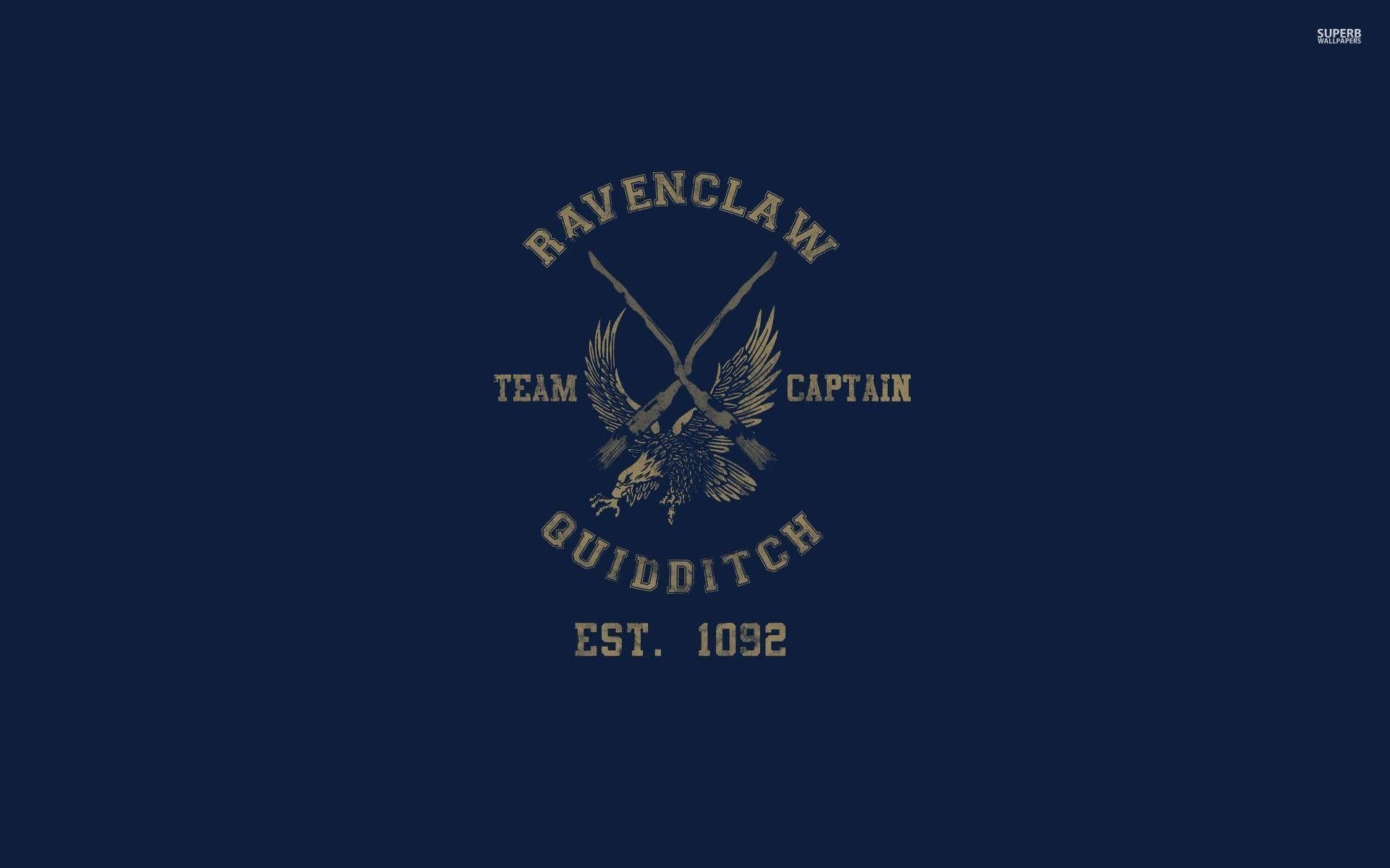 Res: 1920x1200, Ravenclaw Quidditch team - Harry Potter wallpaper - Vector .
