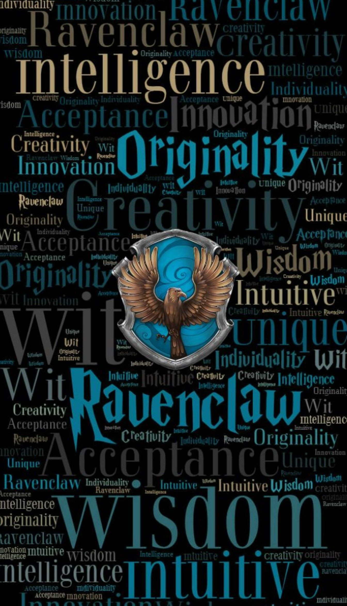 Res: 1344x2345, Harry Potter HD Ravenclaw Phone Wallpaper by emily-corene on DeviantArt