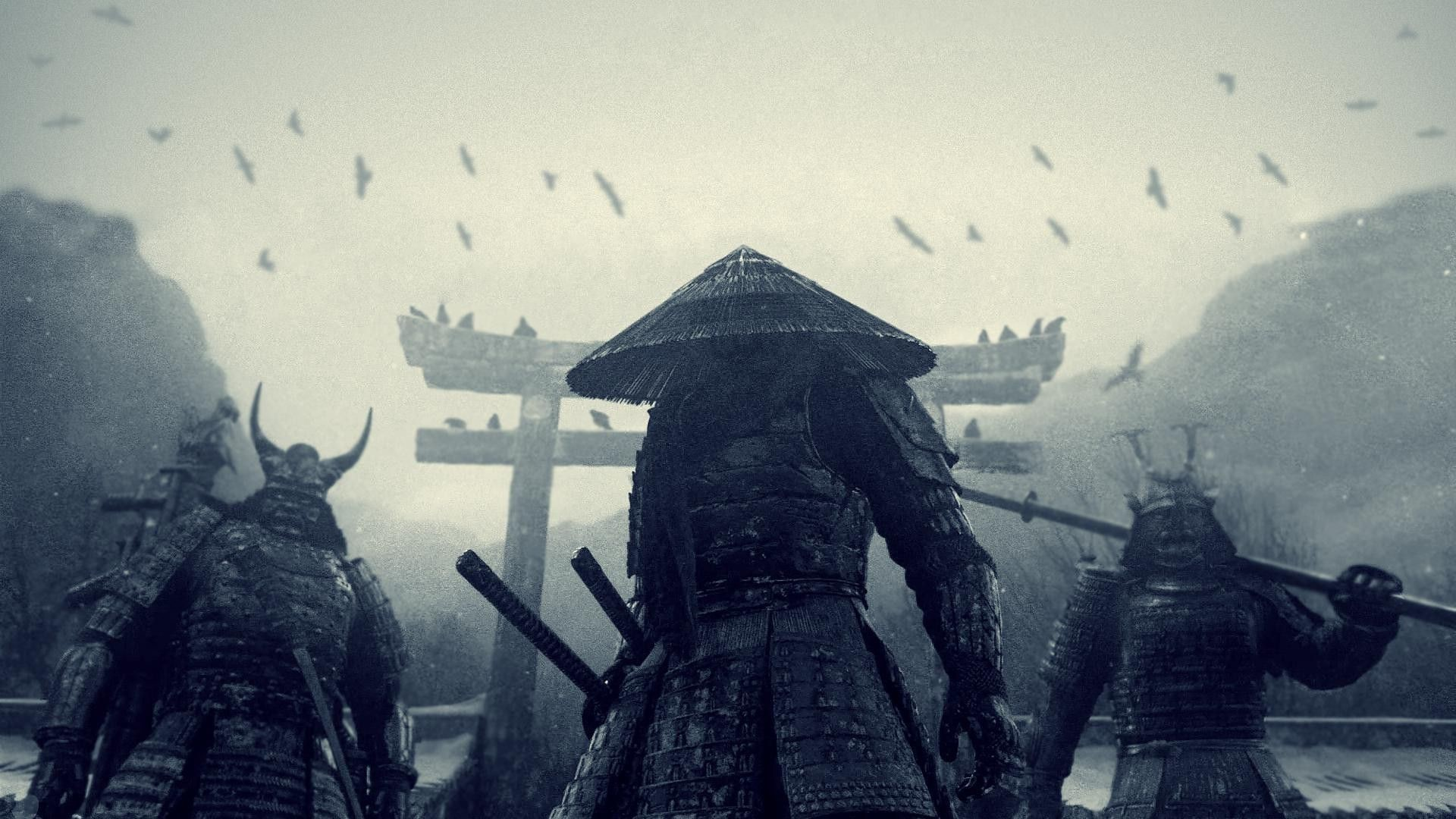 Res: 1920x1080,  Wallpapers For > Ancient Samurai Wallpaper Hd