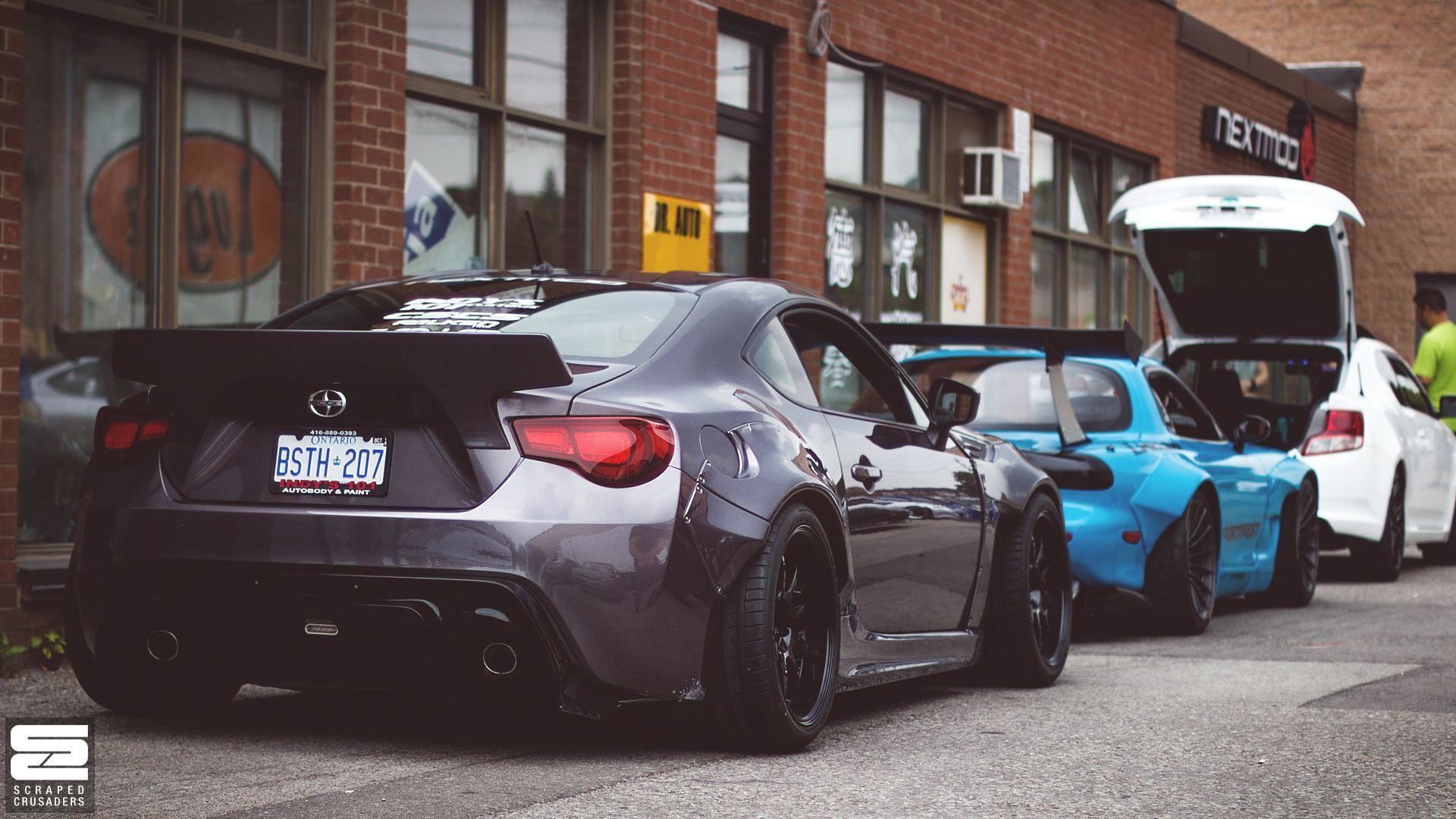 Res: 1920x1080, Scion Frs Rocket Bunny Body Kit - wallpaper.