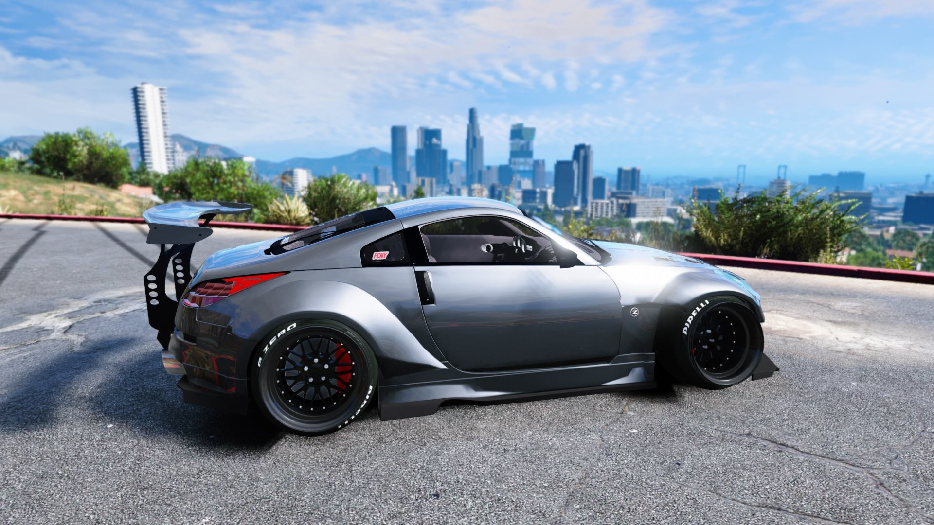 Res: 1920x1080, Rocket Bunny Kit, Nissan 350z