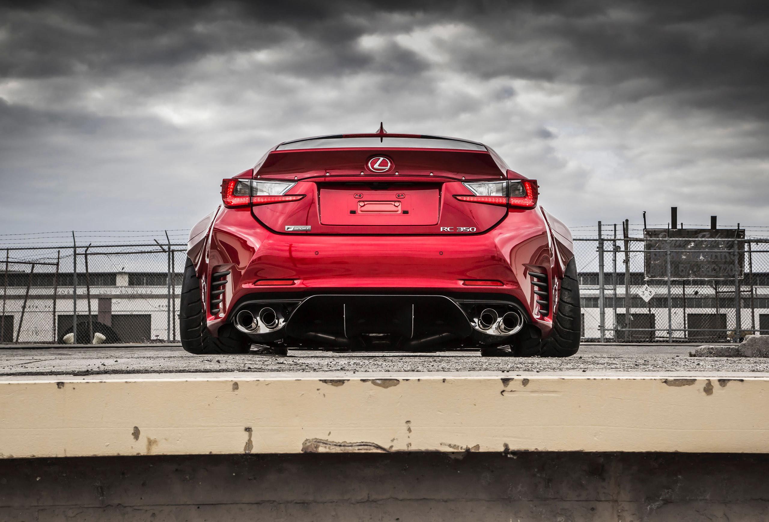 Res: 2560x1740, Rocket Bunny Lexus RC F SPORT
