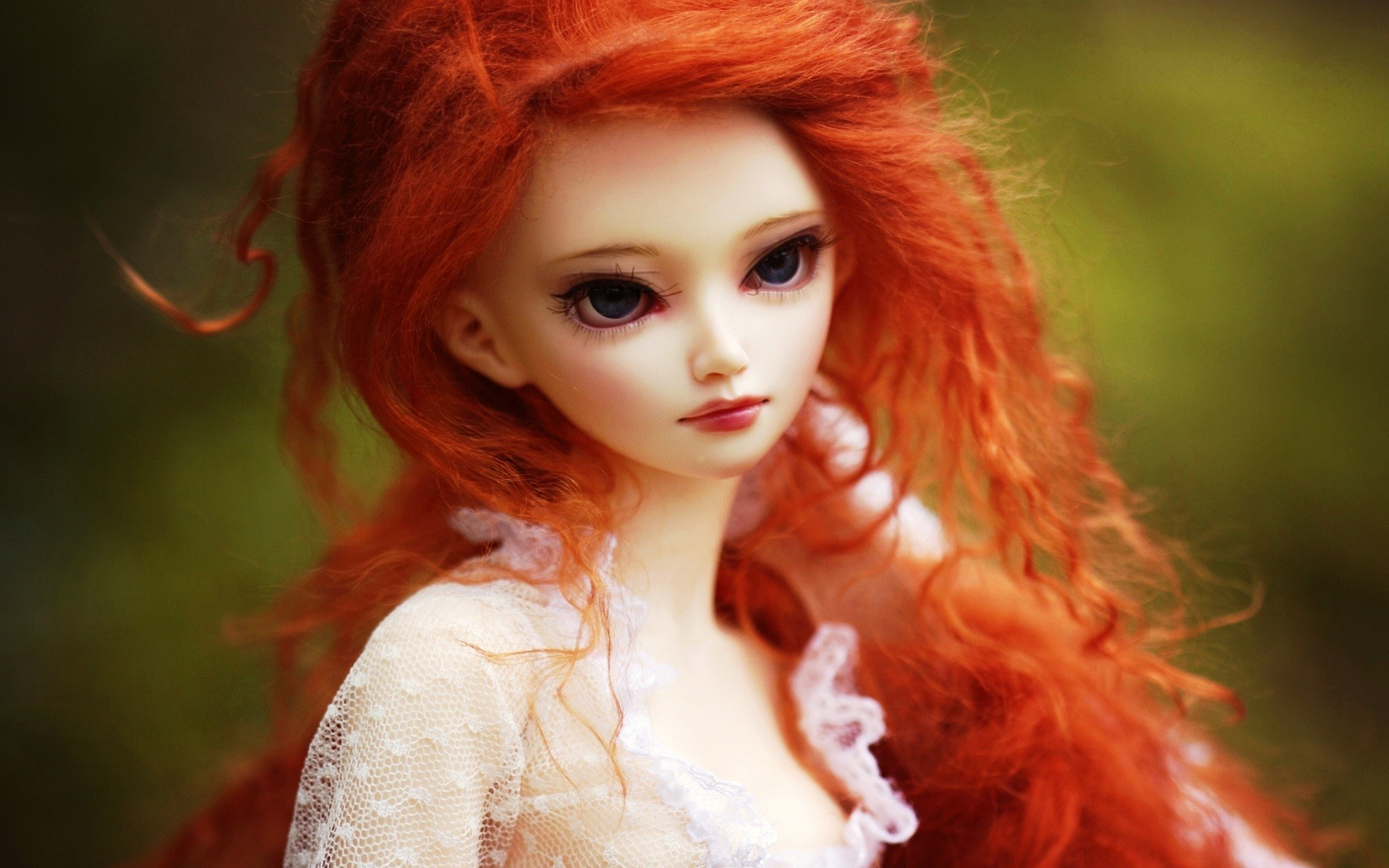 Res: 1920x1200, red hair beauty wallpaper