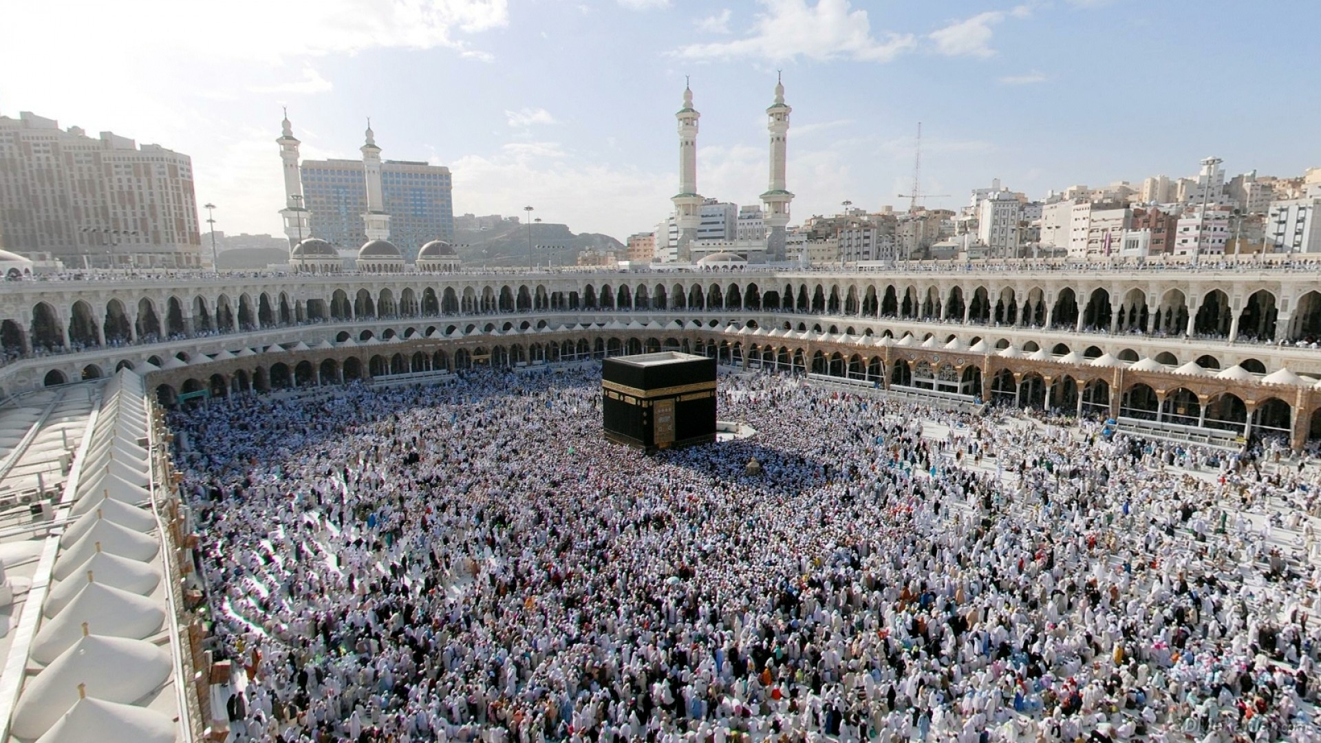 Res: 1920x1080, kaaba mecca mosque wonder