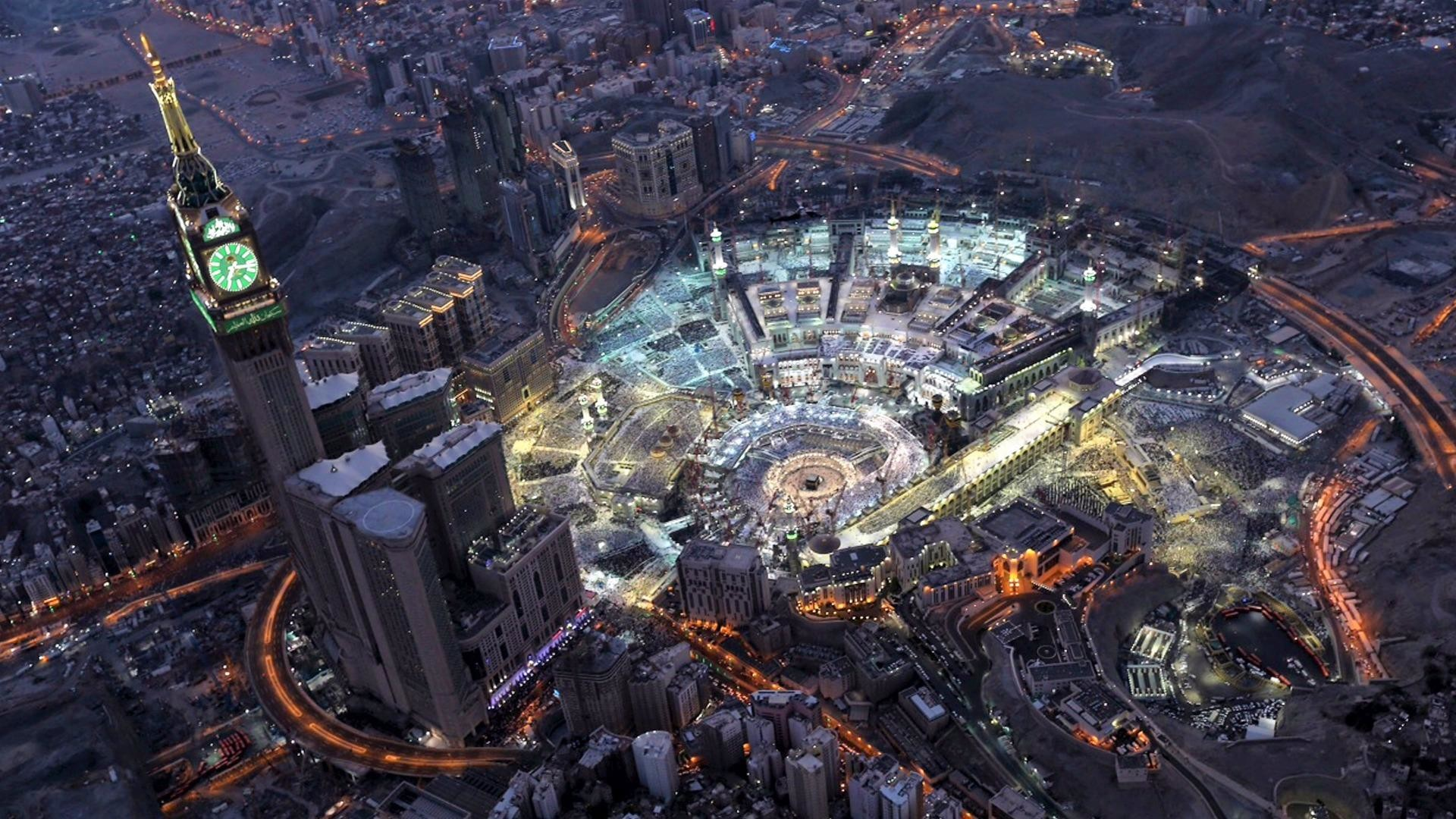 Res: 1920x1080, Great Mosque Of Mecca Wallpaper | Wallpaper Studio 10 | Tens of thousands HD  and UltraHD wallpapers for Android, Windows and Xbox