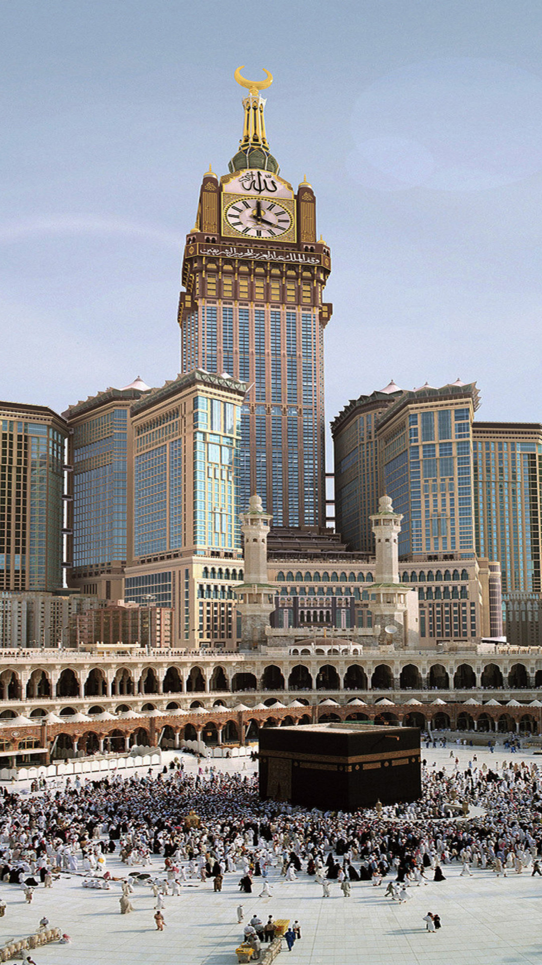 Res: 1080x1920, Download Mecca 1080 x 1920 Wallpapers - 4565420 - Islamic Allah God |  mobile9