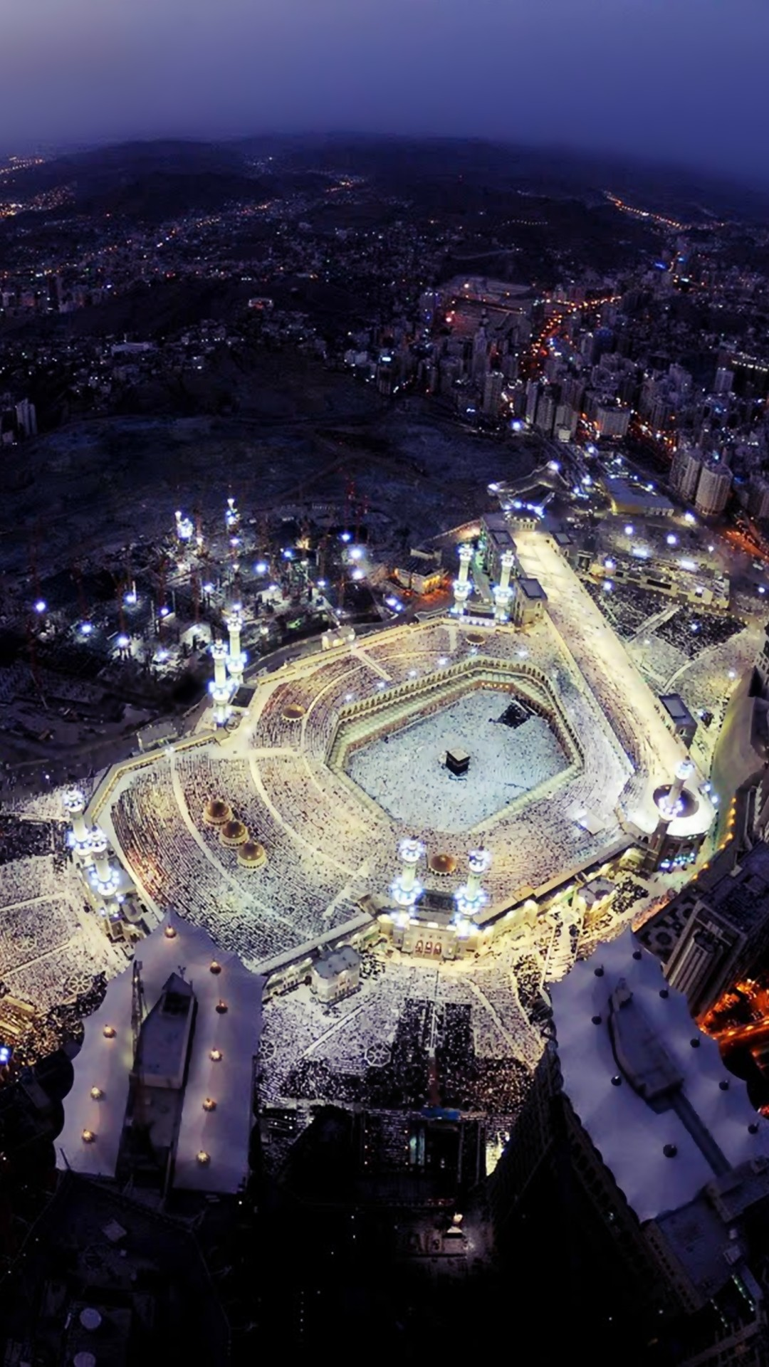 Res: 1080x1920, Religious / Great Mosque Of Mecca () Mobile Wallpaper