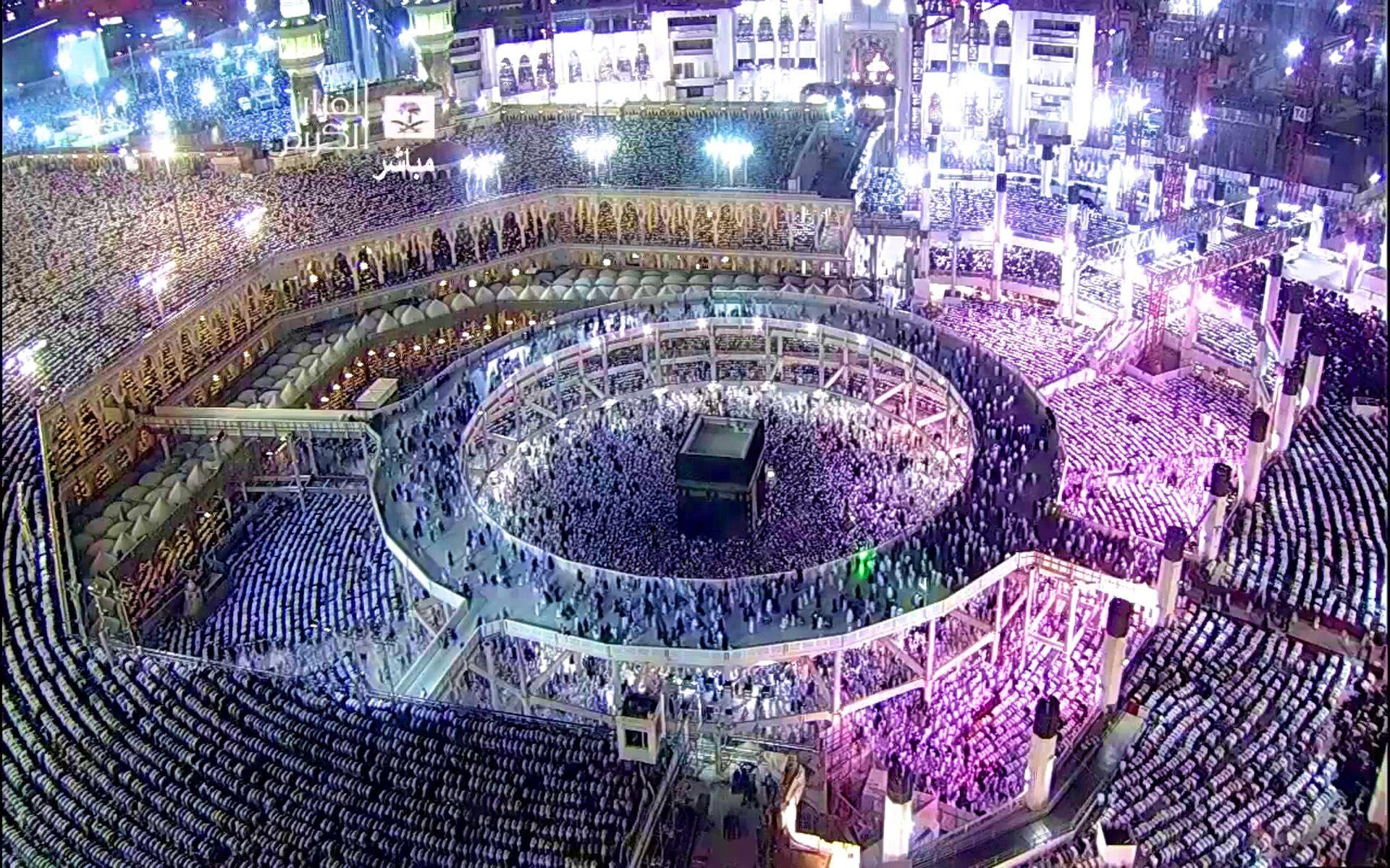 Res: 1920x1200, ... Known As Al Kaaba Al Musharrafah Building In The Center Of Islams  Holiest Mosque Is Al Masjid Al Haram In Mecca Saudi Arabia 1920×1200 free HD  Wallpaper ...