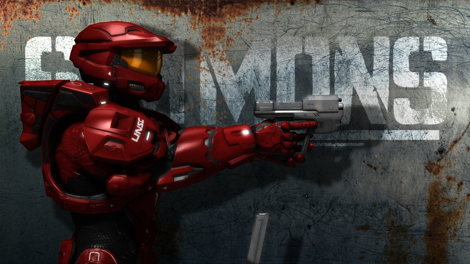 Res: 1920x1080, Halo Red vs Blue Wallpaper