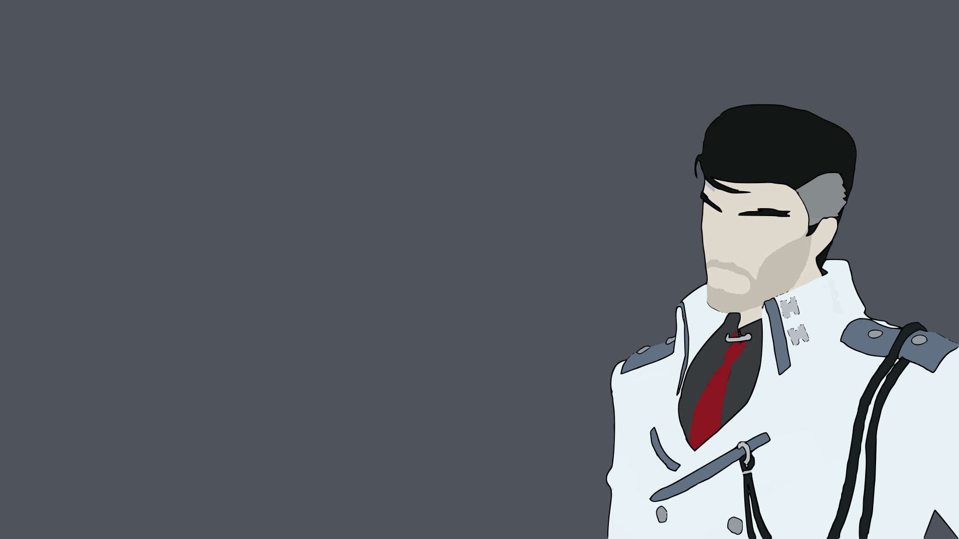 Res: 1920x1080, Chris, a student based in Florida, was inspired by the magnificence and  badassery that is General James Ironwood. He took a screenshot from RWBY  Volume 4, ...