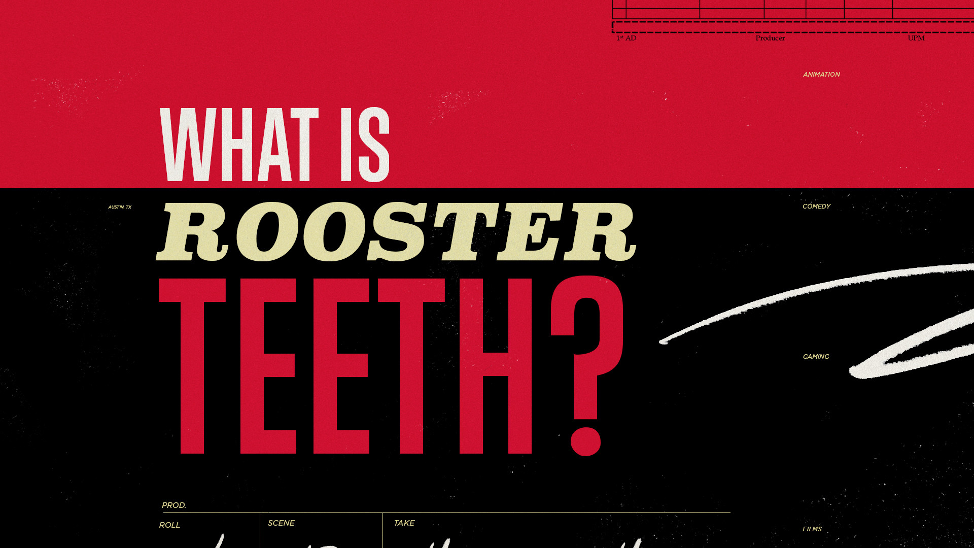 Res: 1920x1080, ROOSTER TEETH  Marketing Reel 2016 | Concept, Design,
