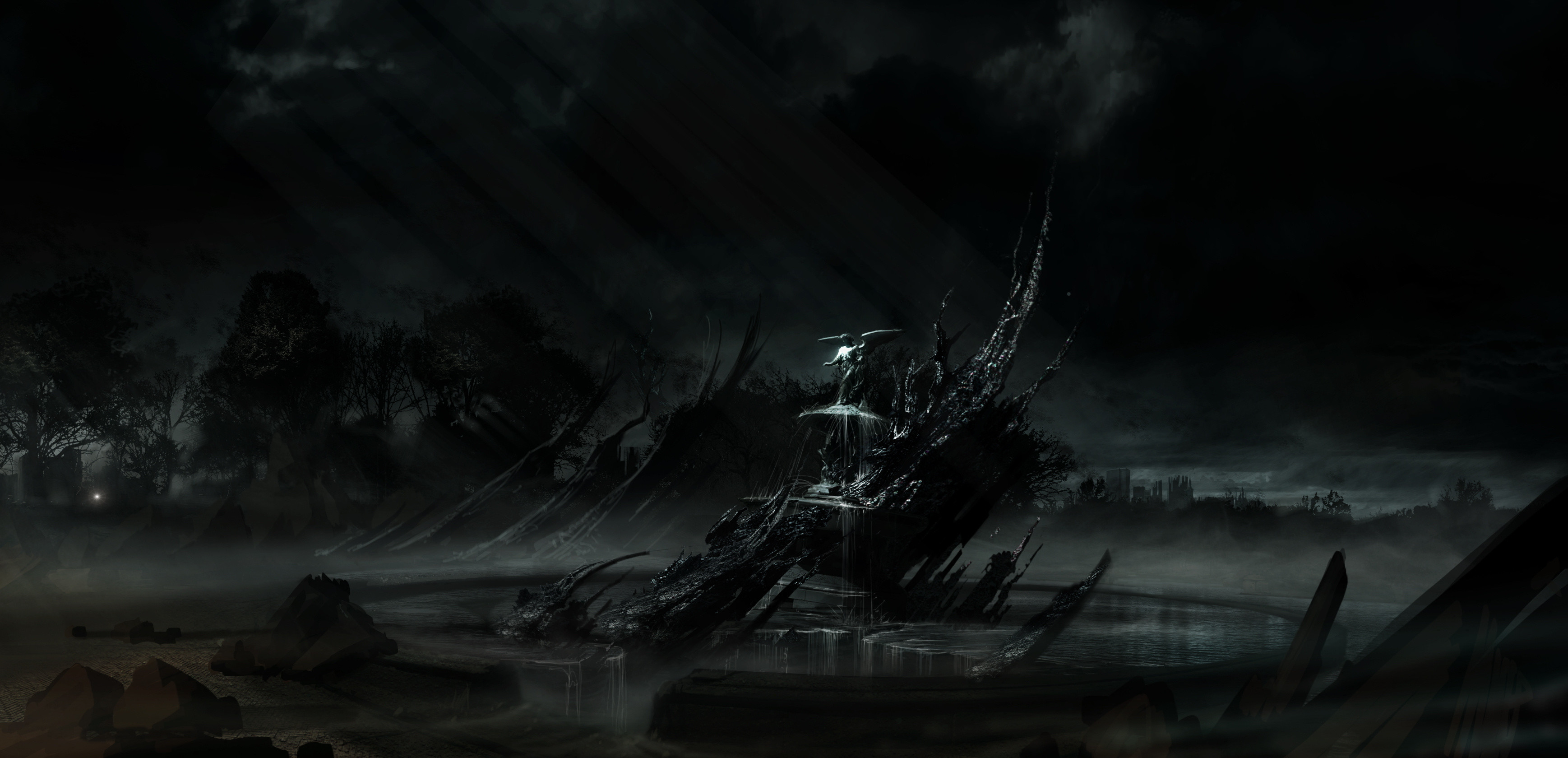 Res: 3475x1679, Alone In The Dark HD Wallpapers