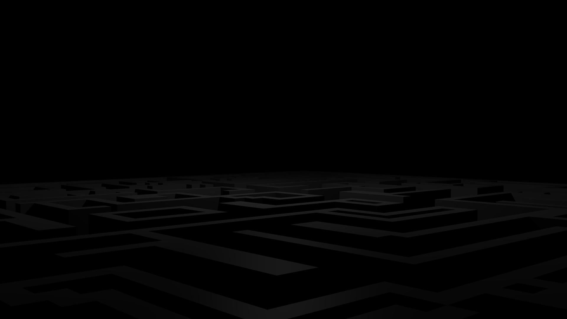 Res: 1920x1080, Dark Maze Wallpaper