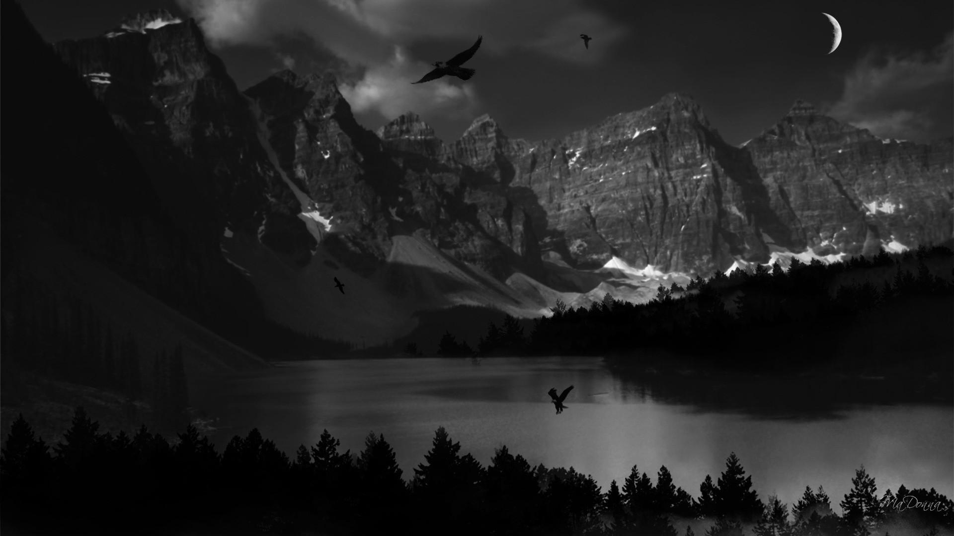 Res: 1920x1080, desktop dark nature wallpapers download
