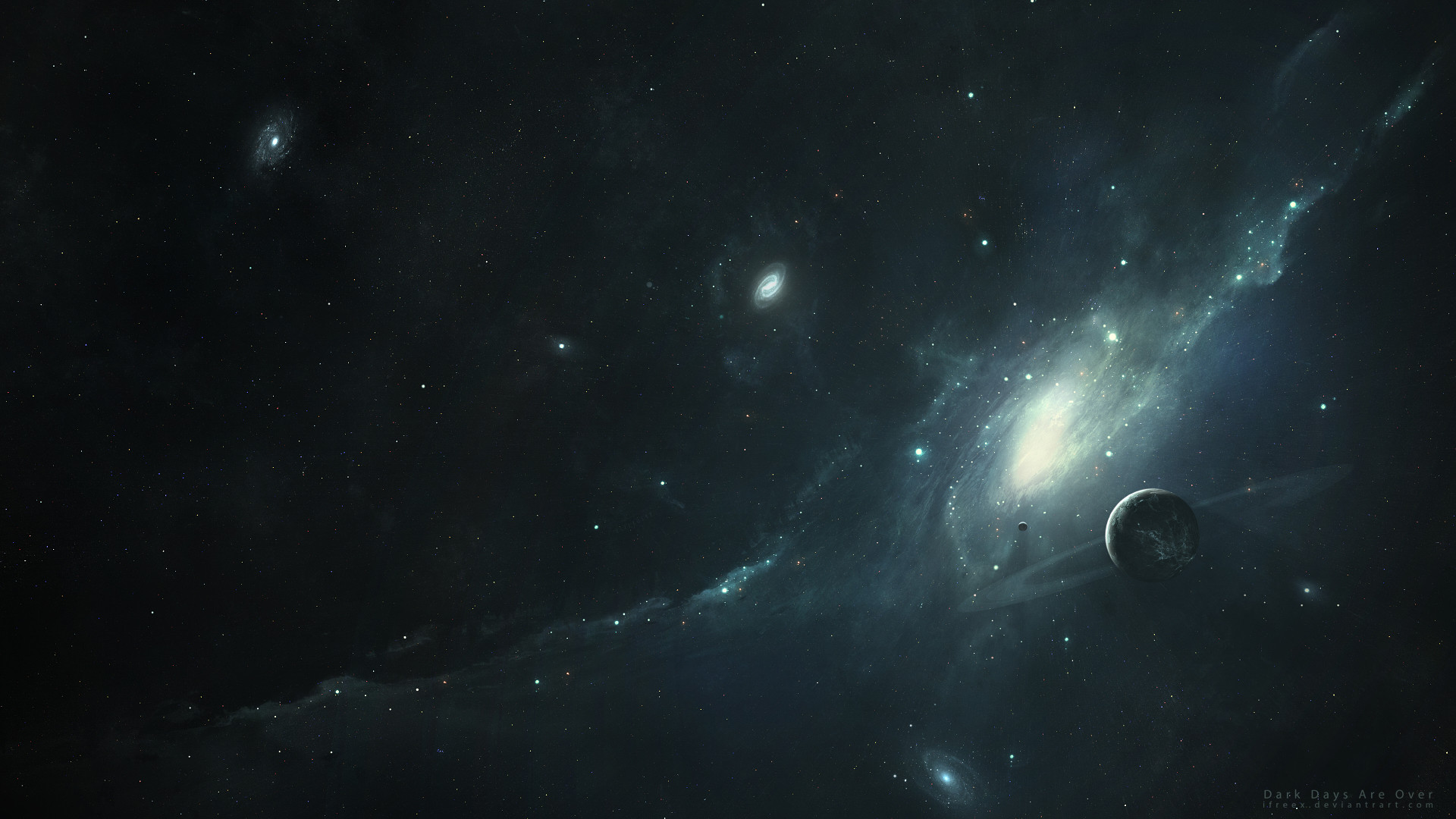 Res: 1920x1080, ... PC Dark Space HD Background Images ...