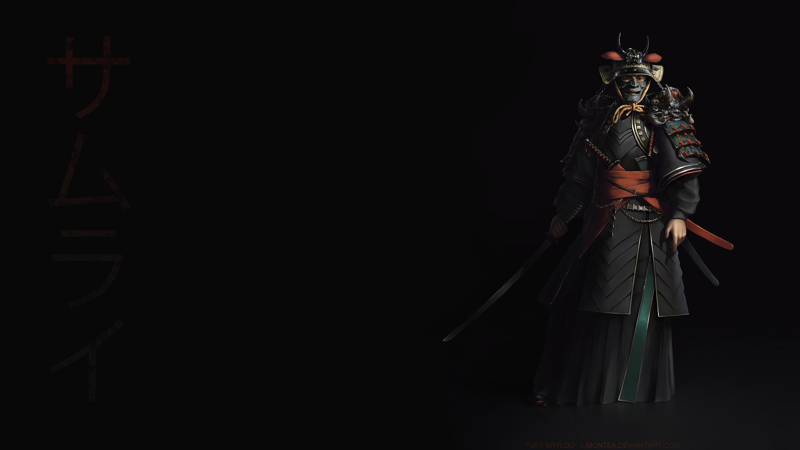 Res: 2560x1440, Desktop Samurai HD Wallpapers.