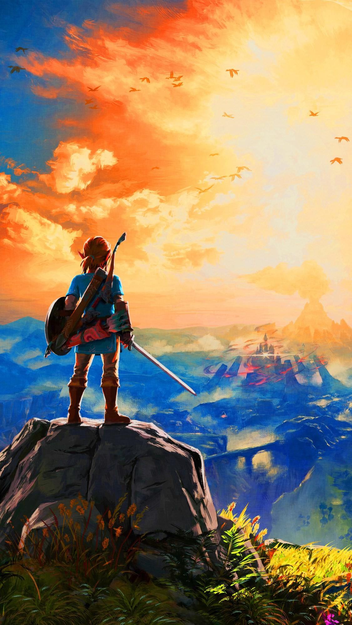 Res: 1125x2000, Fan-Art: Legend of Zelda: Breath of the Wild phone wallpapers